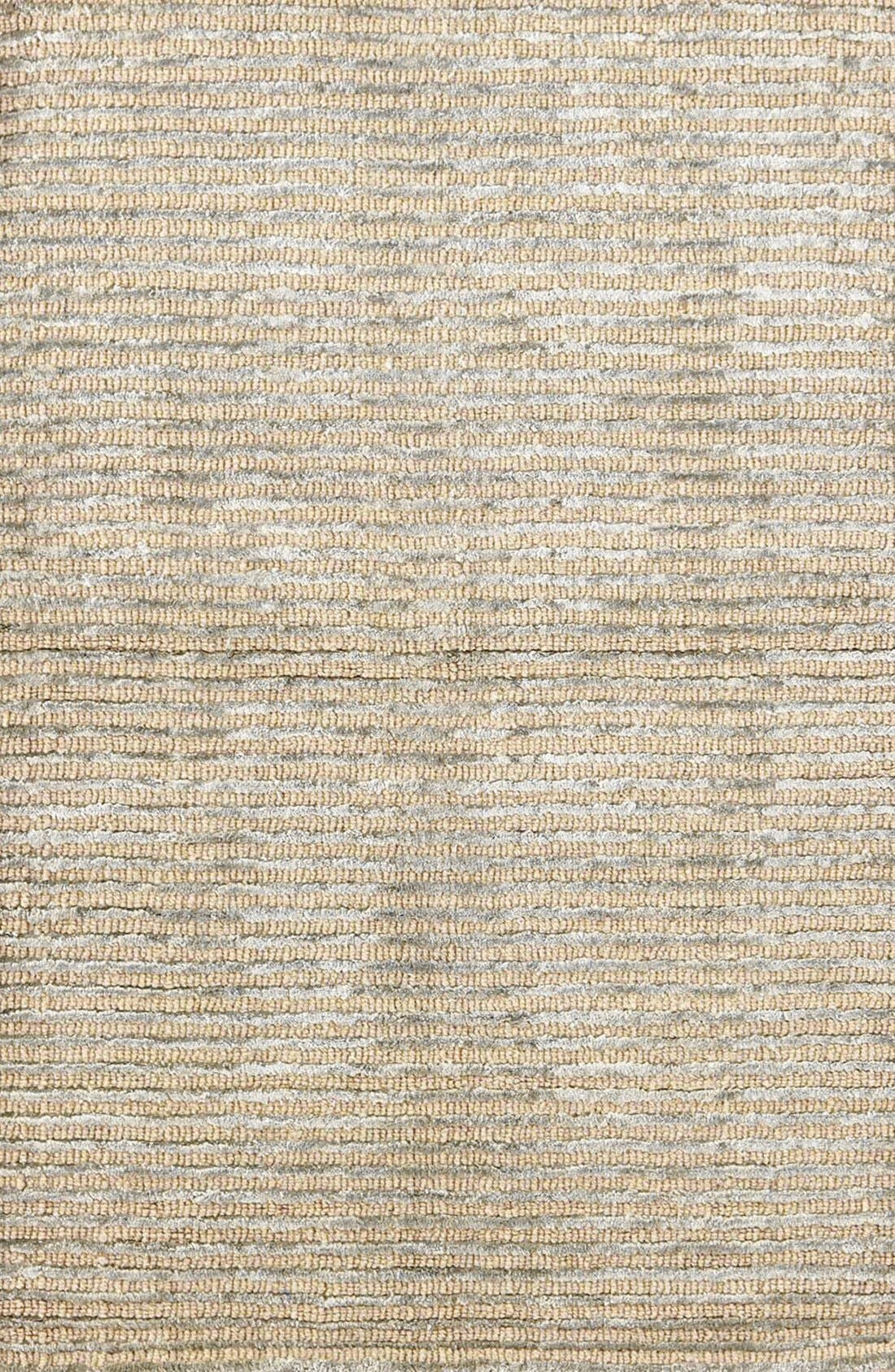Stripe Rug,                             Main thumbnail 1, color,                             Silver