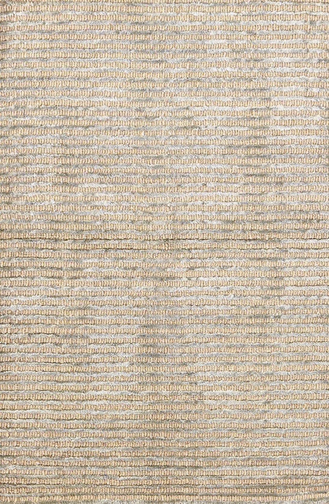 Stripe Rug,                         Main,                         color, Silver