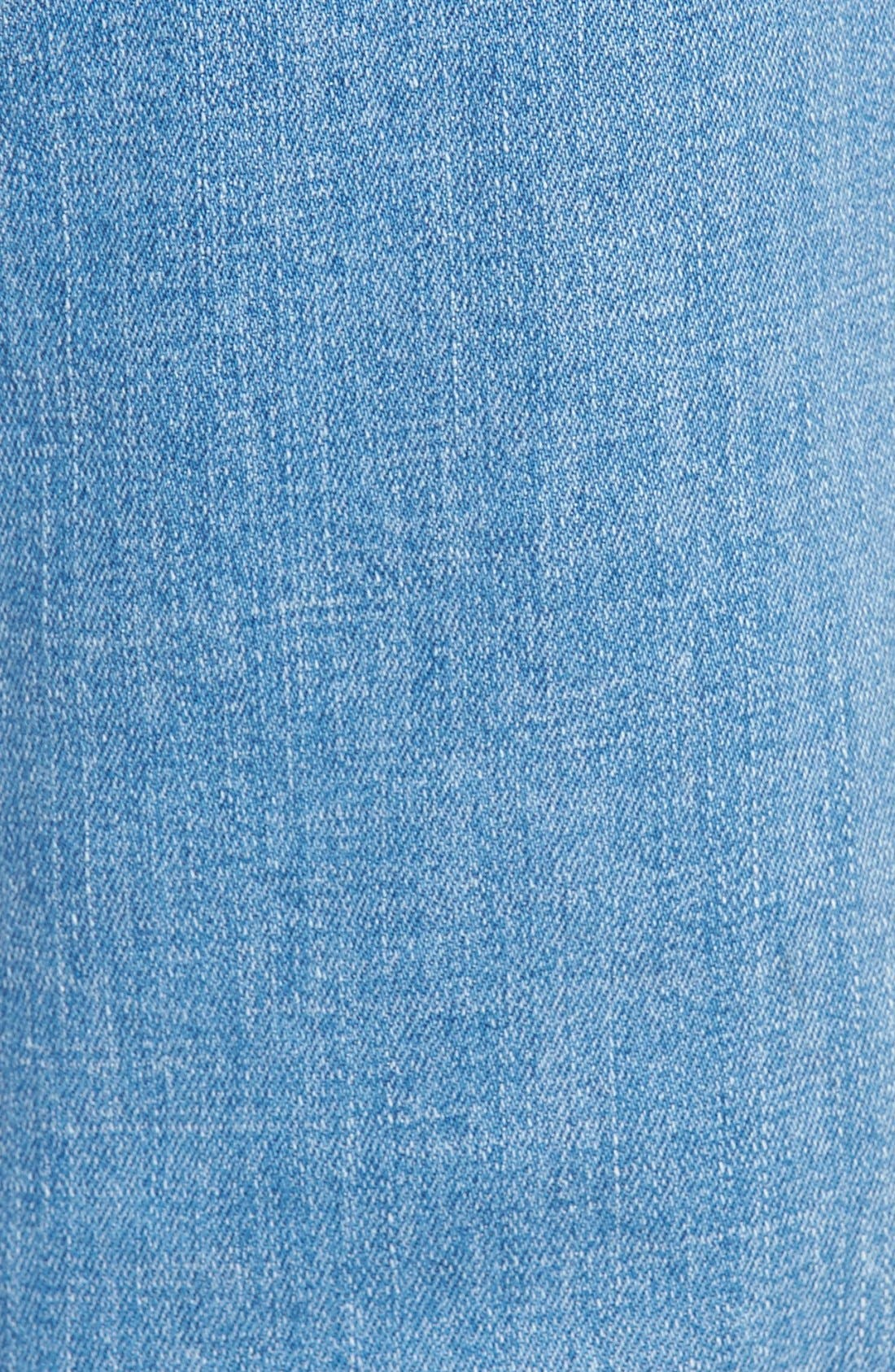 Alternate Image 5  - 7 For All Mankind® 'Josefina' Mid Rise Boyfriend Jeans (Mediterranean Sky)