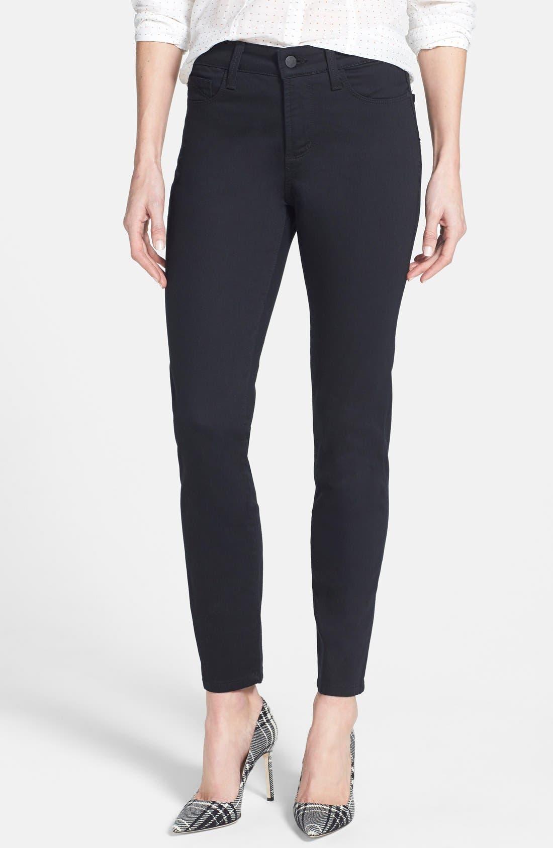 NYDJ Clarissa Colored Stretch Ankle Skinny Jeans (Regular & Petite)