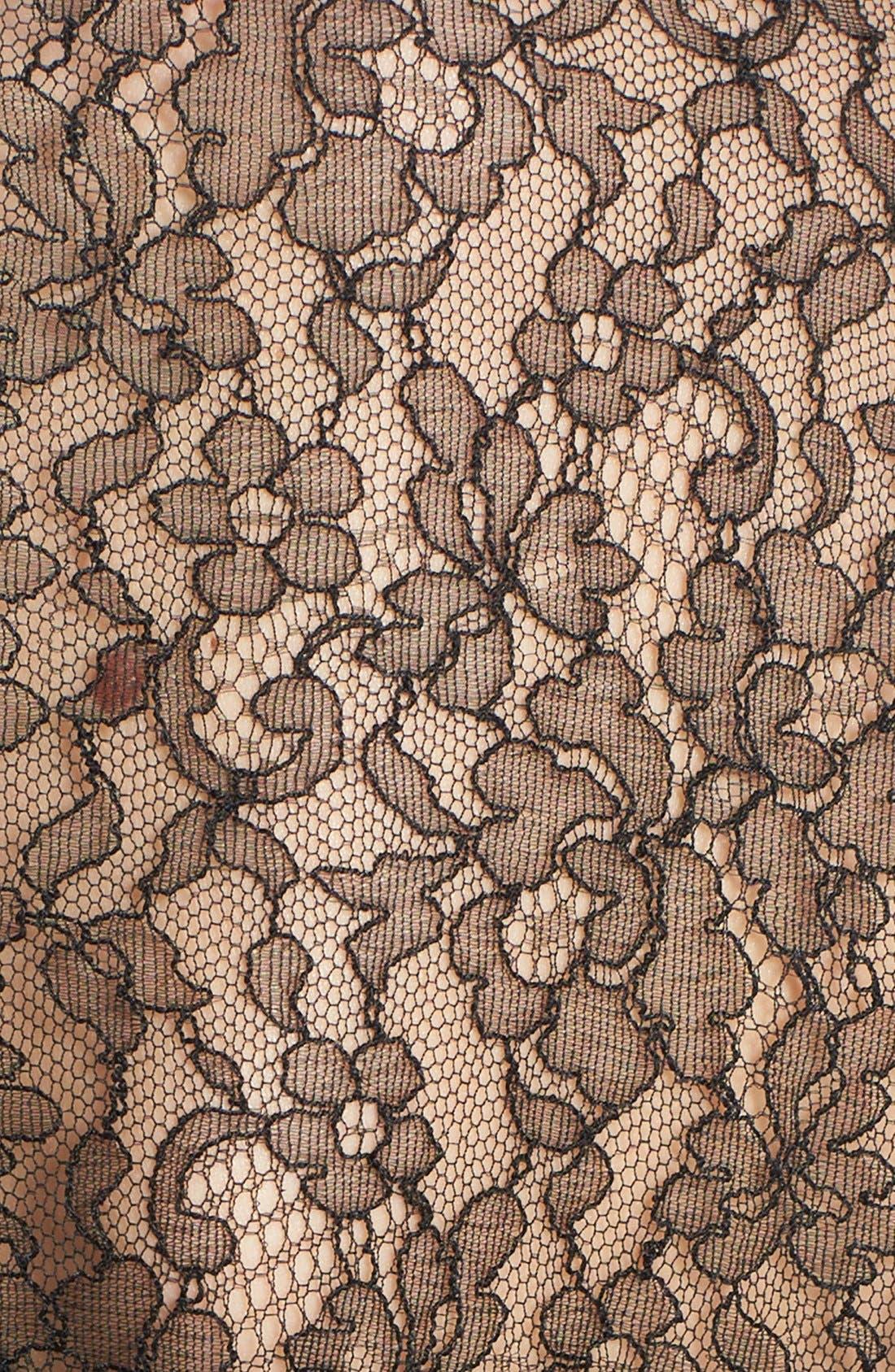 Alternate Image 4  - Michael Kors Tie Neck Chantilly Lace Blouse