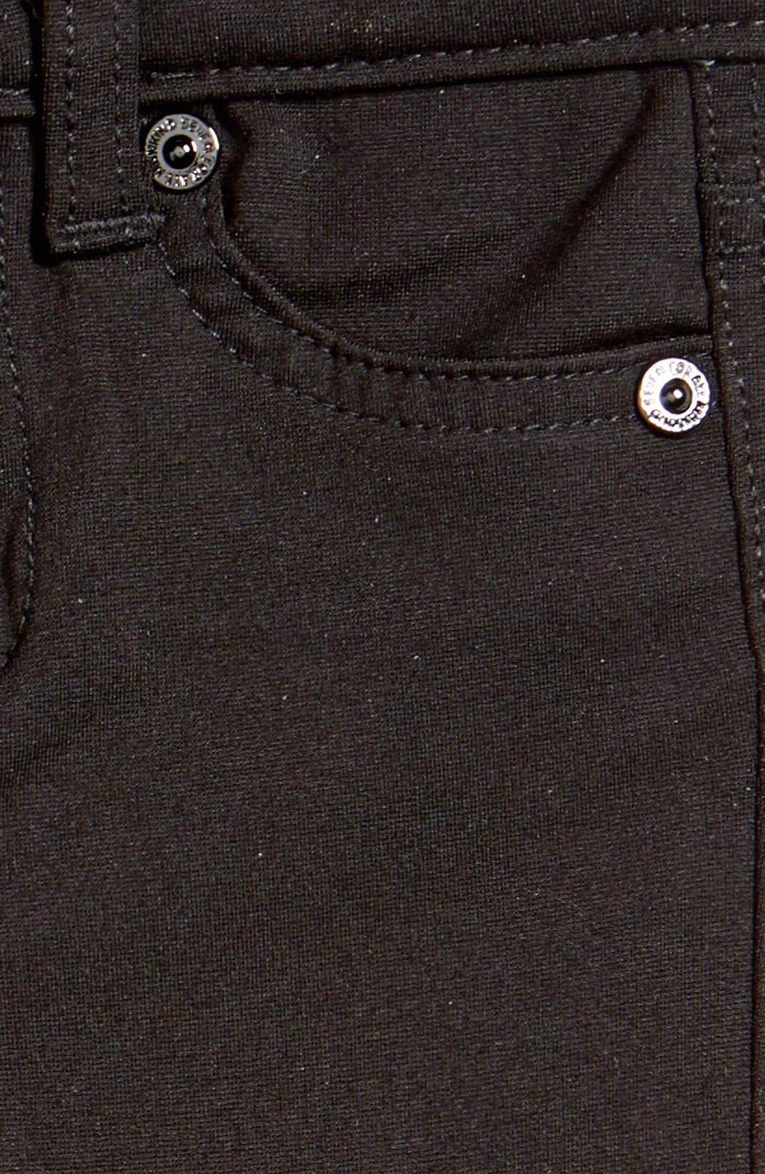 Alternate Image 3  - 7 For All Mankind® Skinny Fit Jeans (Baby)