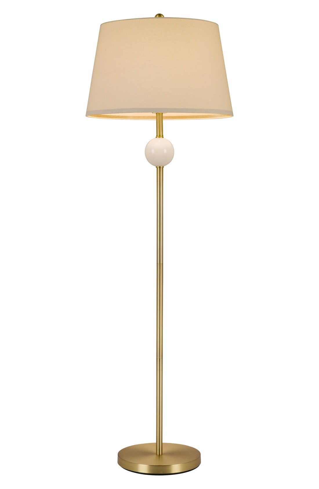 Stacked Ball Floor Lamp,                             Main thumbnail 1, color,                             White