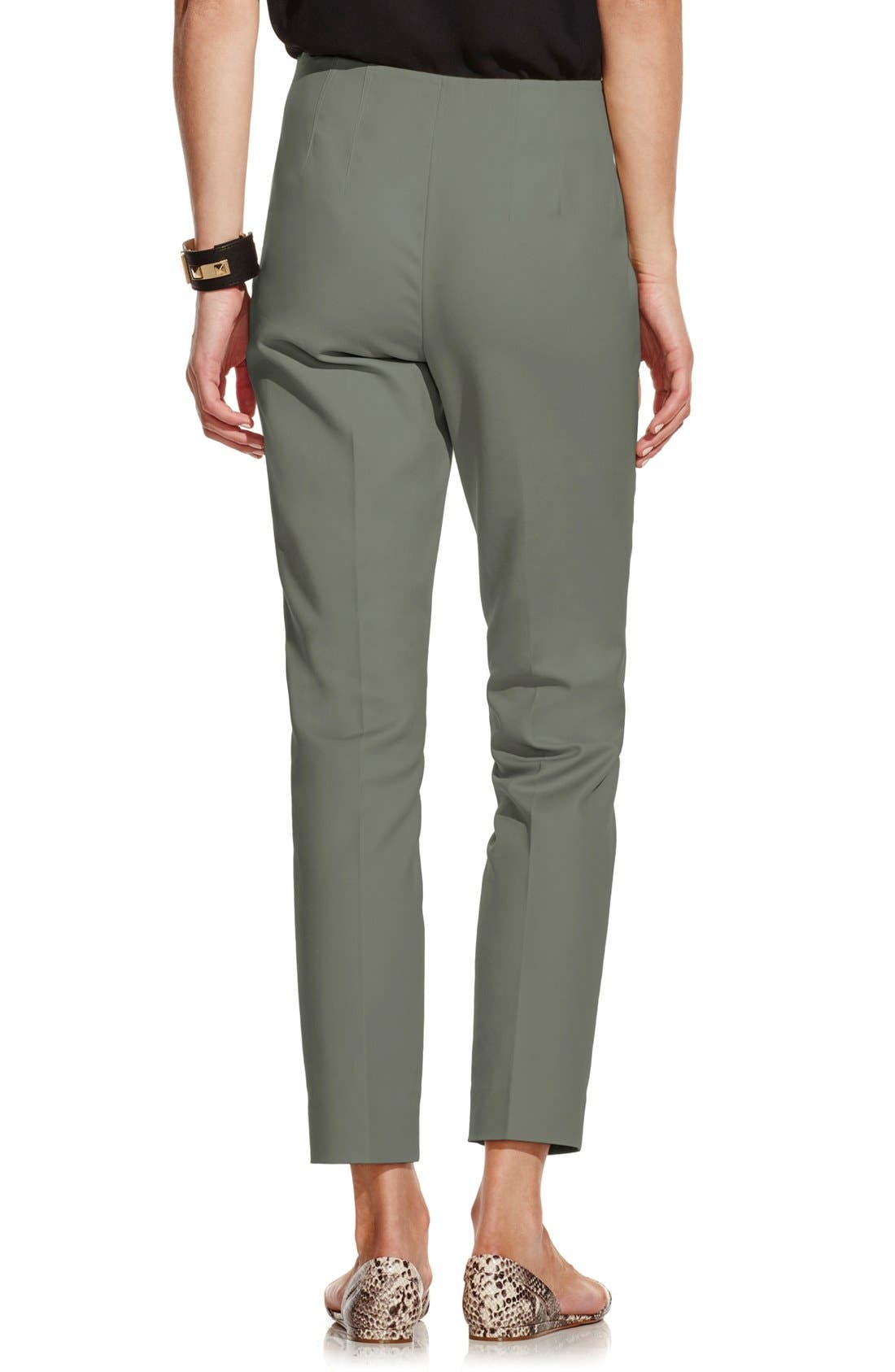 Alternate Image 2  - Vince Camuto Side Zip Skinny Pants