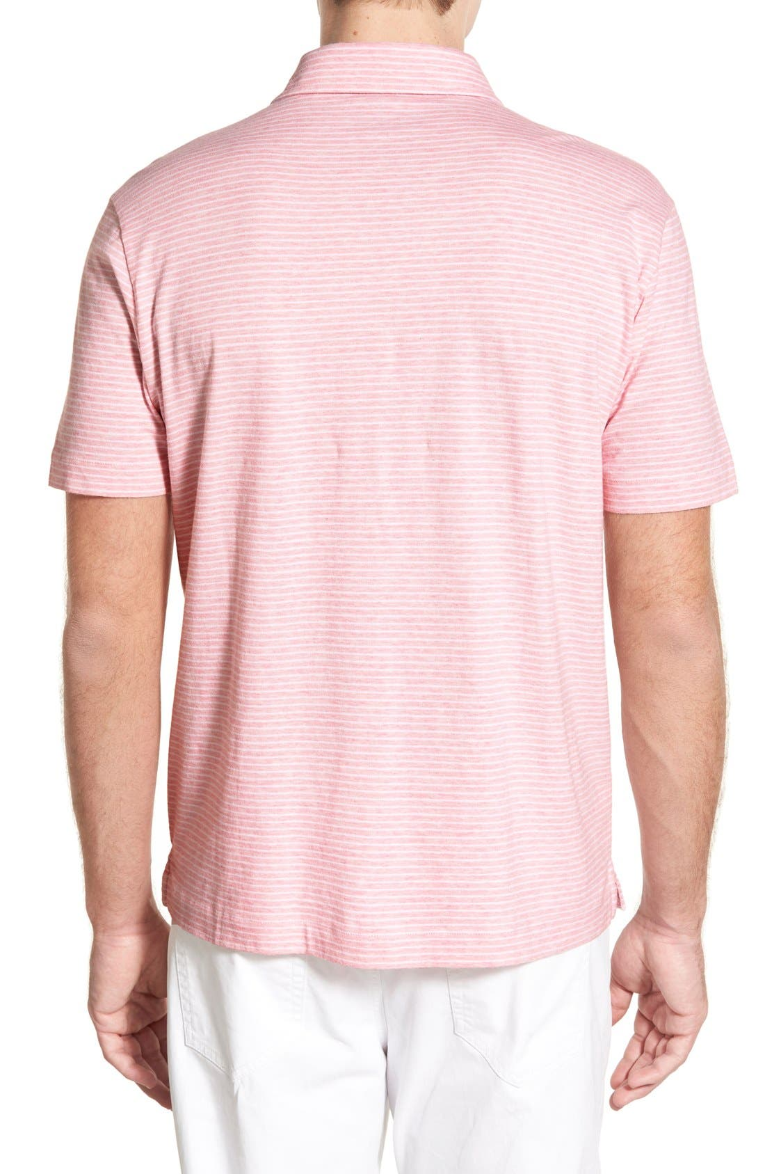 Alternate Image 2  - Vineyard Vines 'Feeder Stripe' Pima Cotton Polo