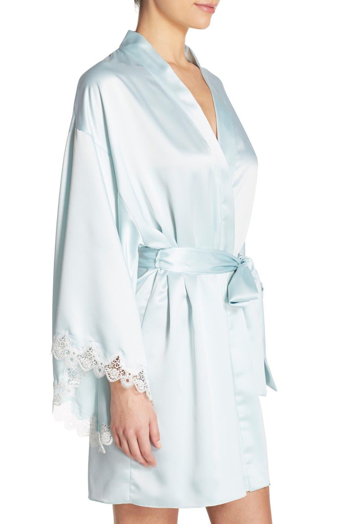Alternate Image 3  - Flora Nikrooz 'Dahlia' Charmeuse Robe