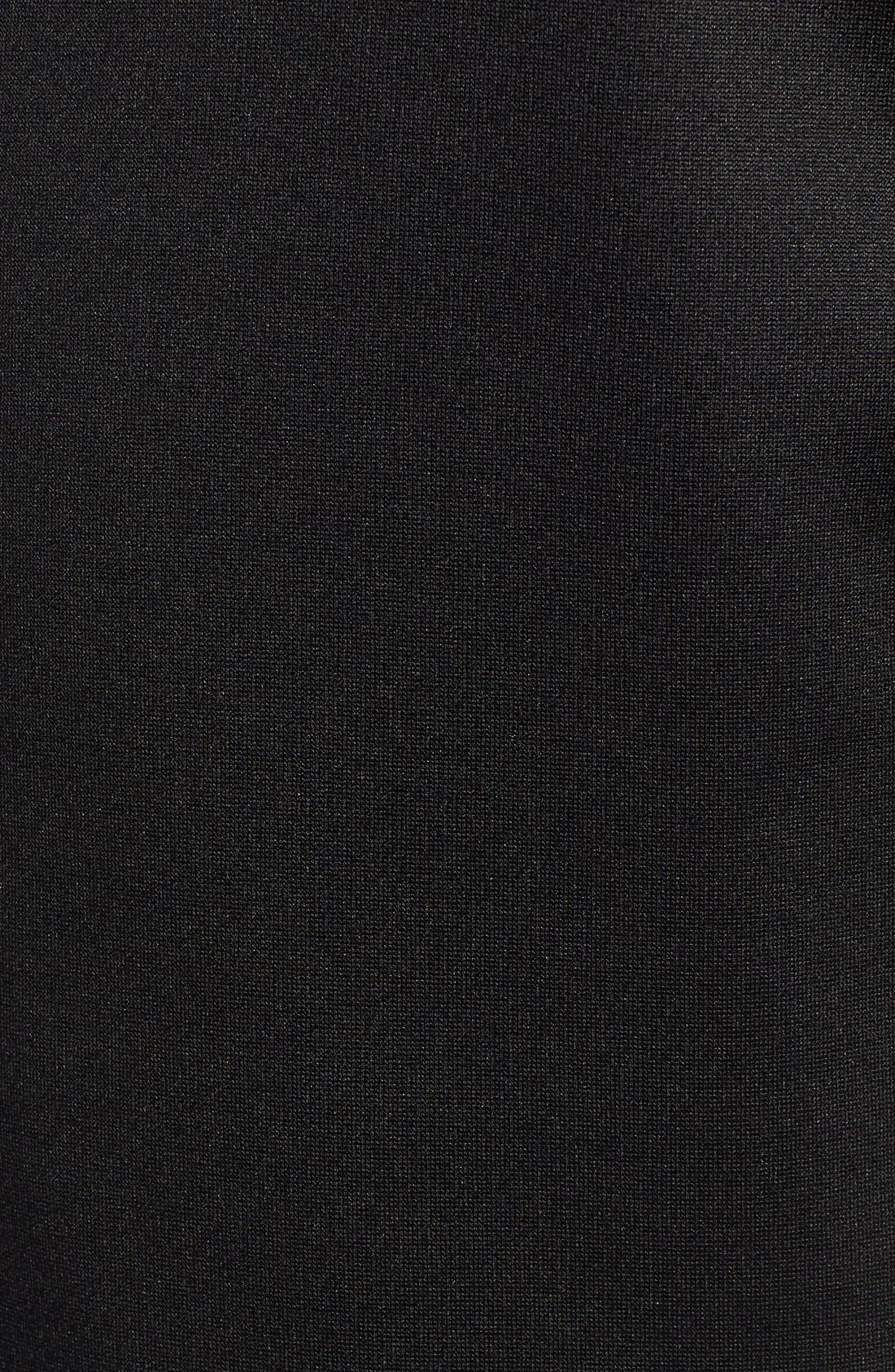 'Momentum' Fleece Jacket,                             Alternate thumbnail 5, color,                             Tnf Black