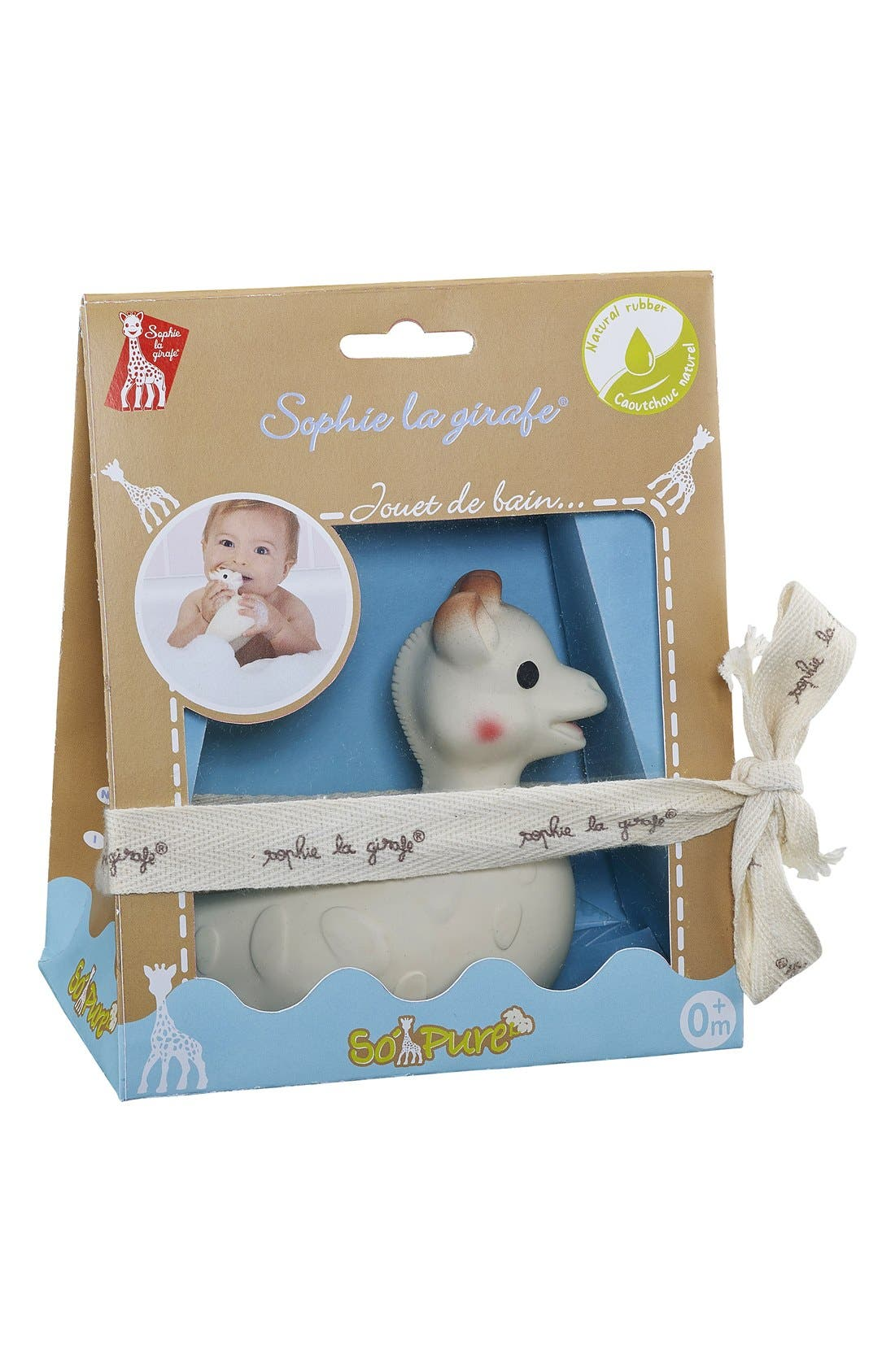 'So Pure' Bath Toy,                             Alternate thumbnail 2, color,                             White