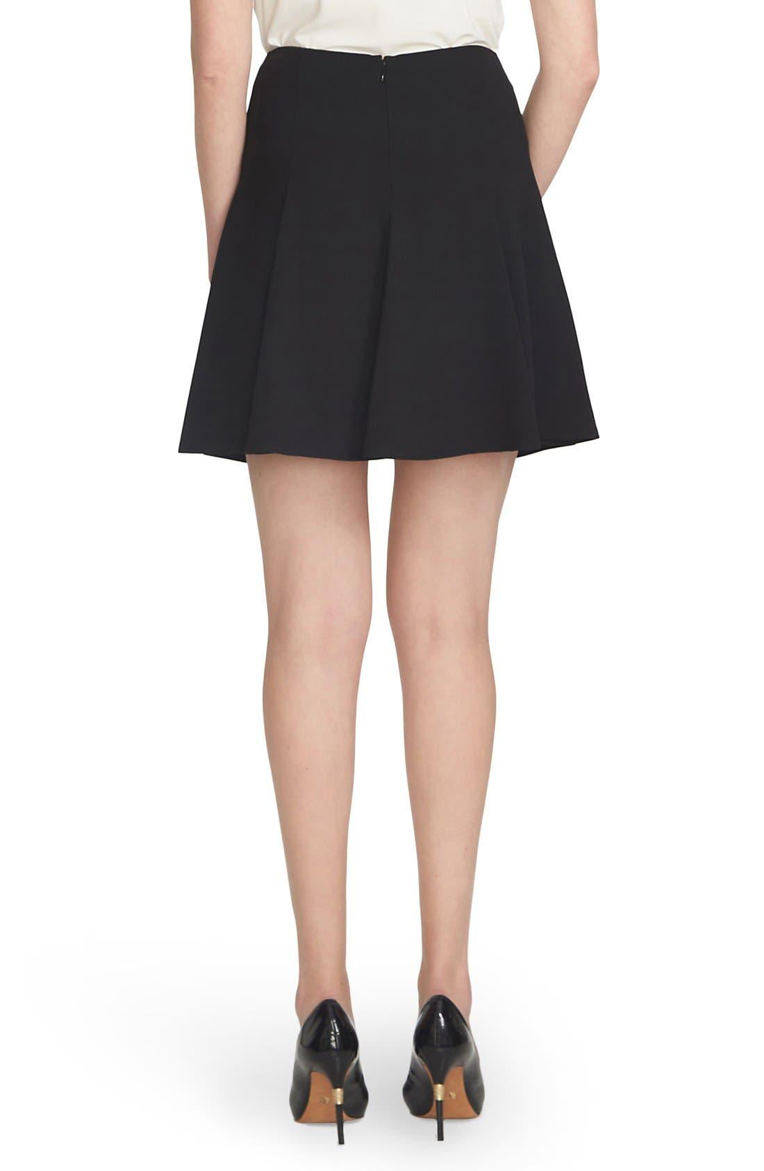Alternate Image 3  - CeCe Crepe Flounce Skirt