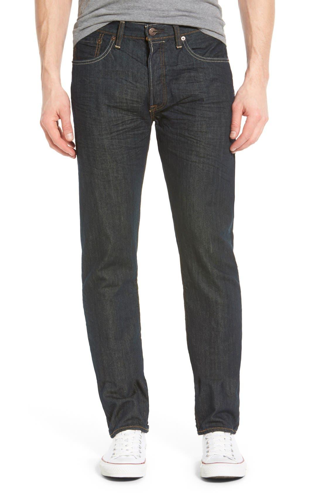 Main Image - Levi's® Red Tab™ '501®' Straight Leg Jeans (Dimensional Rigid Blue)