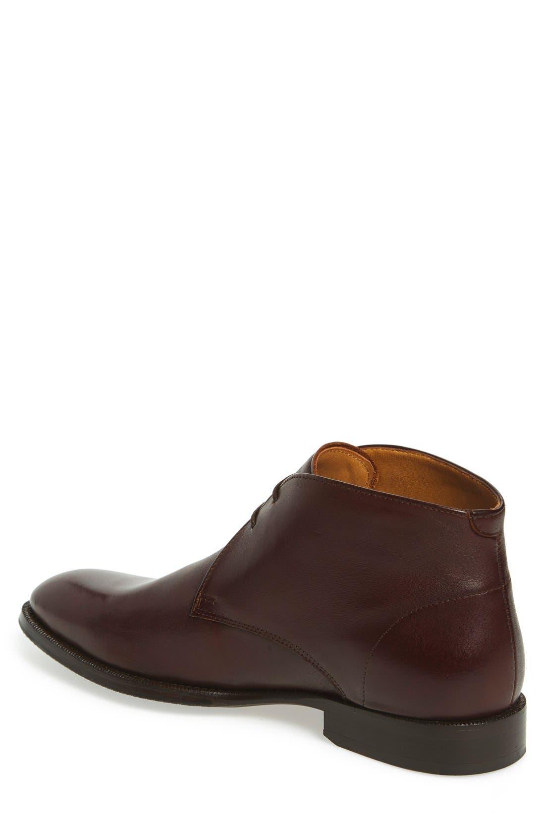 'Branx' Chukka Boot,                             Alternate thumbnail 2, color,                             Dark Brown Leather