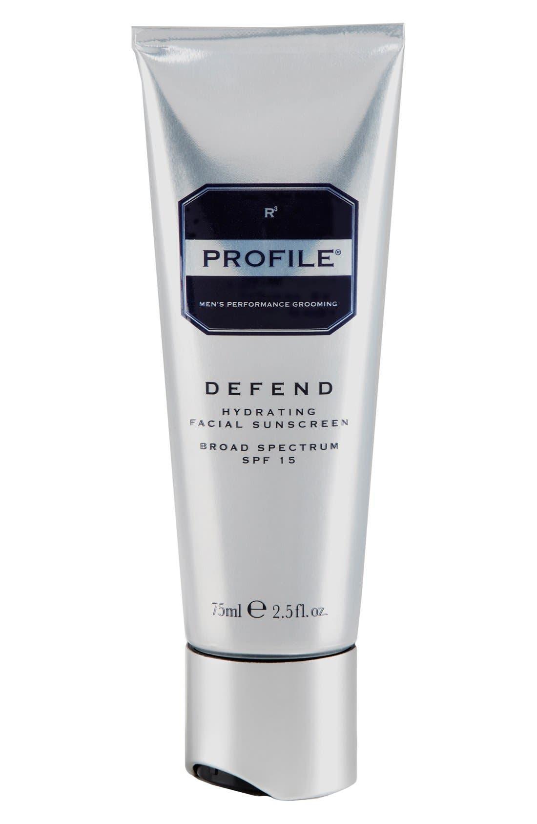 PROFILE® 'Defend' Hydrating Facial Sunscreen Broad Spectrum SPF 15