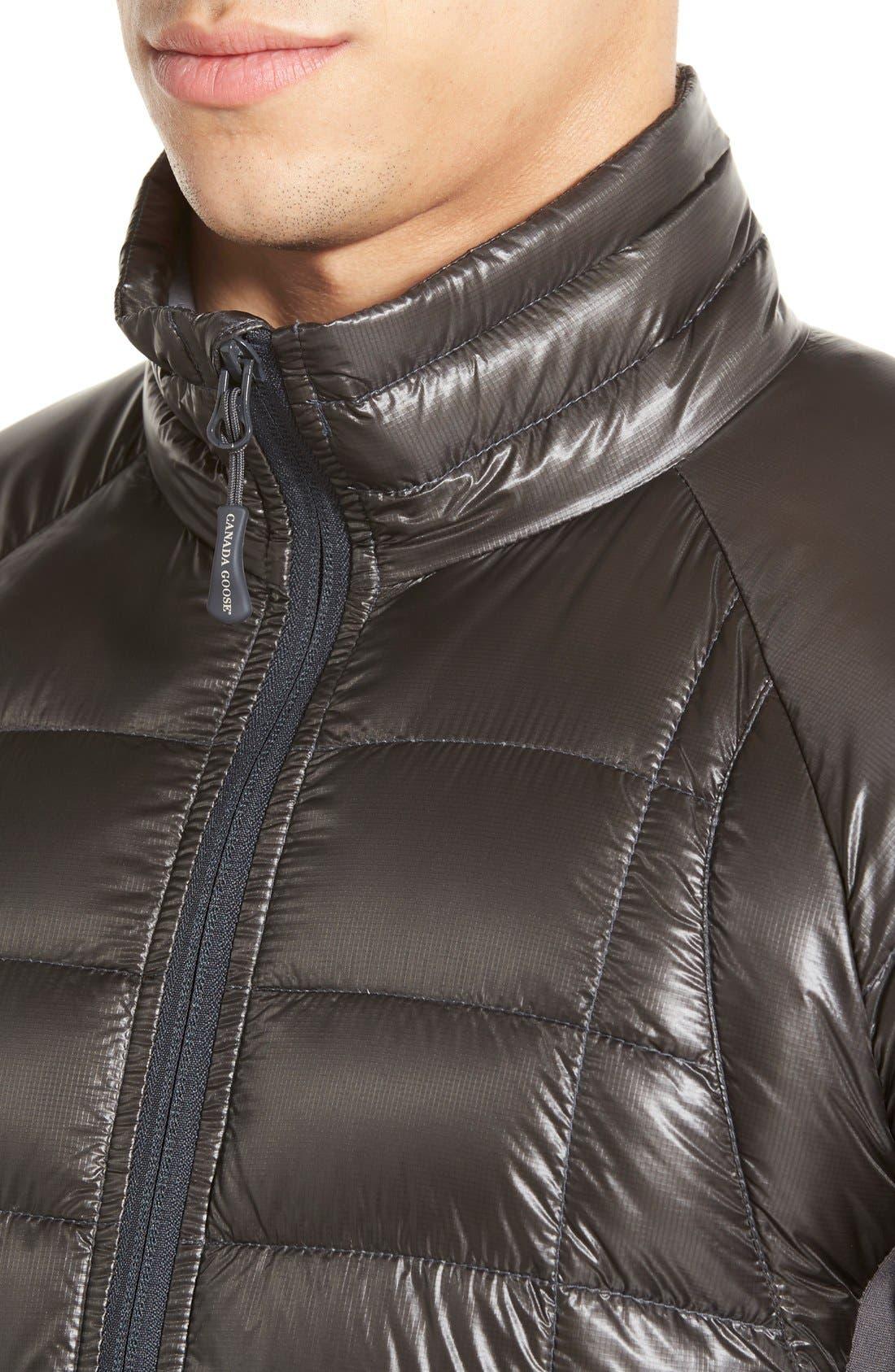 'Hybridge<sup>™</sup> Lite' Slim Fit Packable Jacket,                             Alternate thumbnail 4, color,                             Graphite