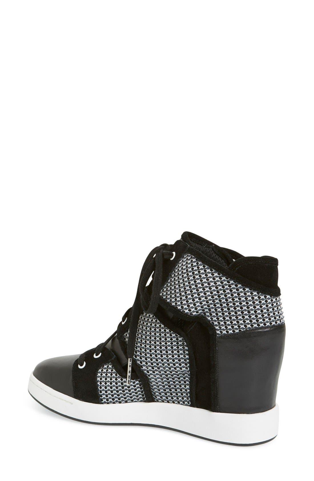 Alternate Image 2  - L.A.M.B. 'Gera' Hidden Wedge Sneaker (Women)