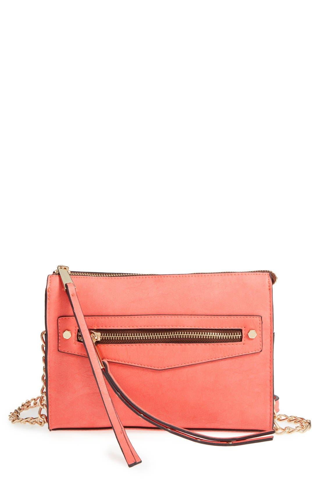 Alternate Image 1 Selected - Dolce Girl Stud Crossbody Bag