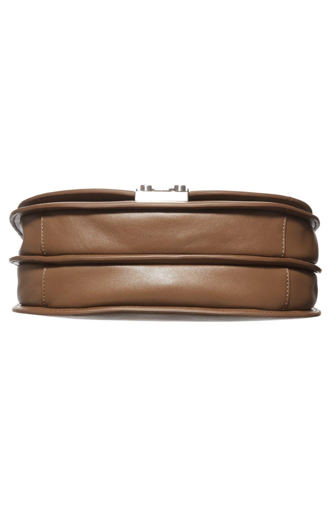 Alternate Image 6  - Loeffler Randall 'Large' Leather Saddle Bag
