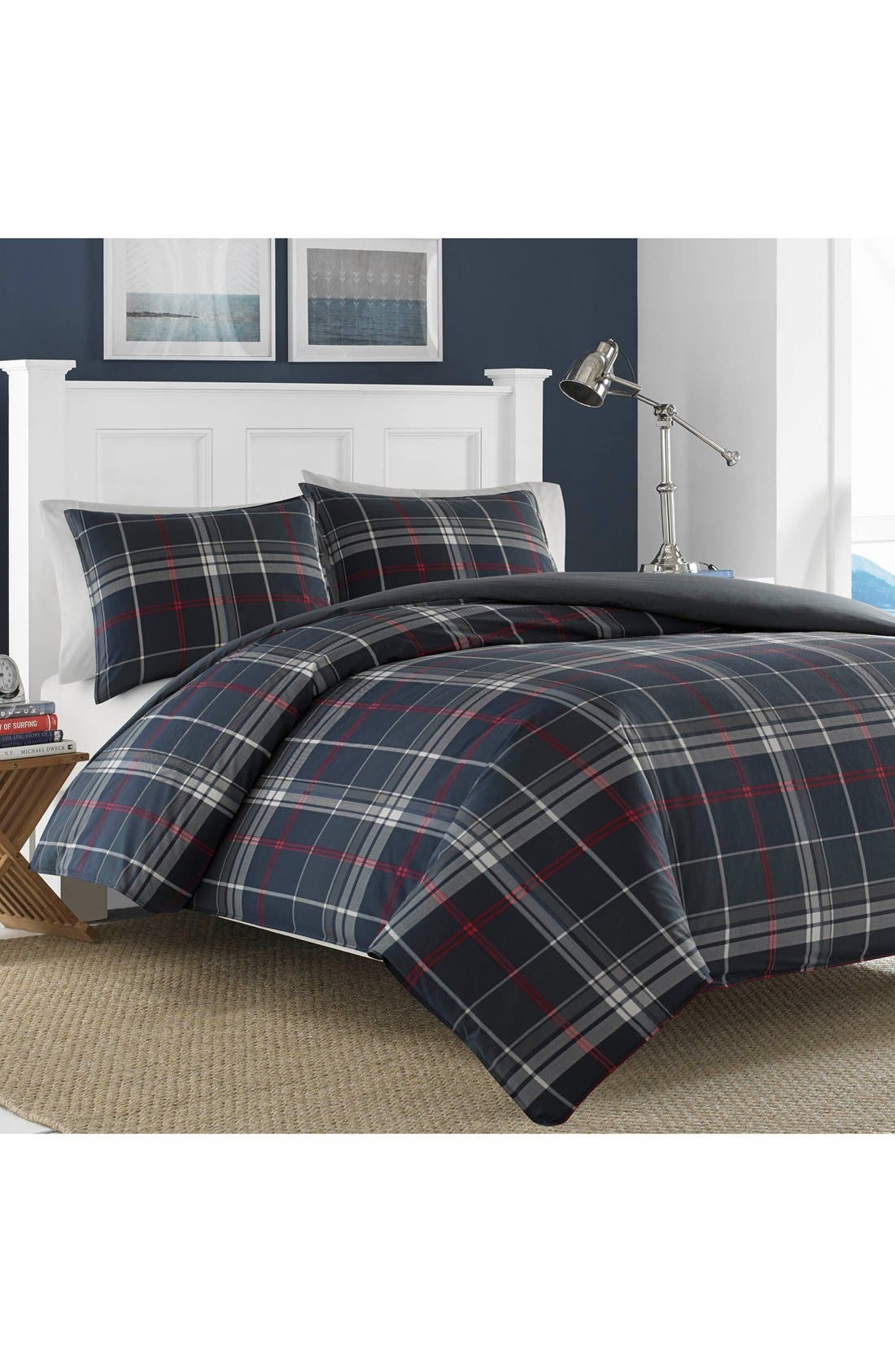Alternate Image 1 Selected - Nautica Booker Cotton Comforter & Sham Set