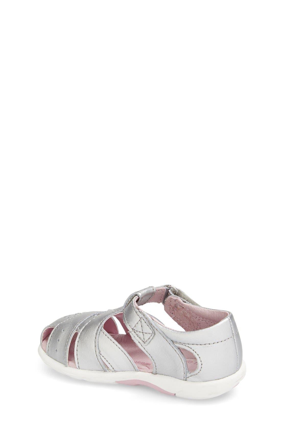 Alternate Image 2  - Stride Rite 'Tulip' Sandal (Baby, Walker & Toddler)