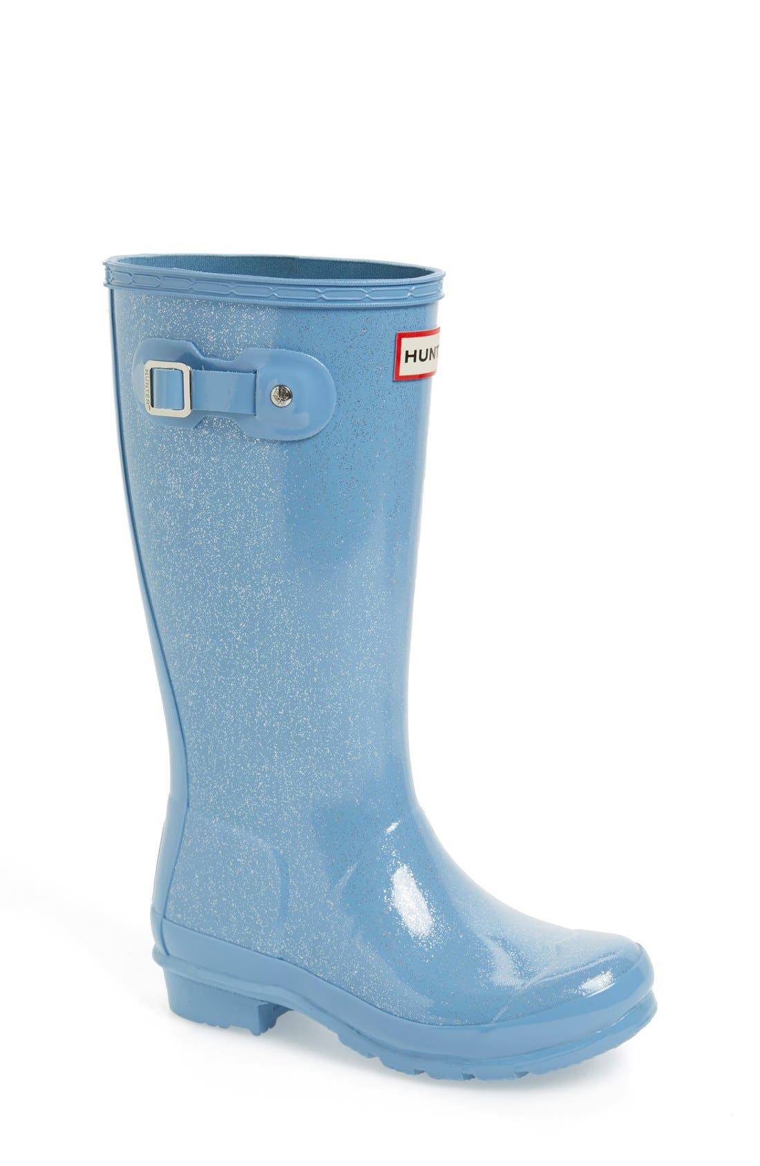 Hunter 'Original Glitter' Rain Boot (Toddler, Little Kid & Big Kid)