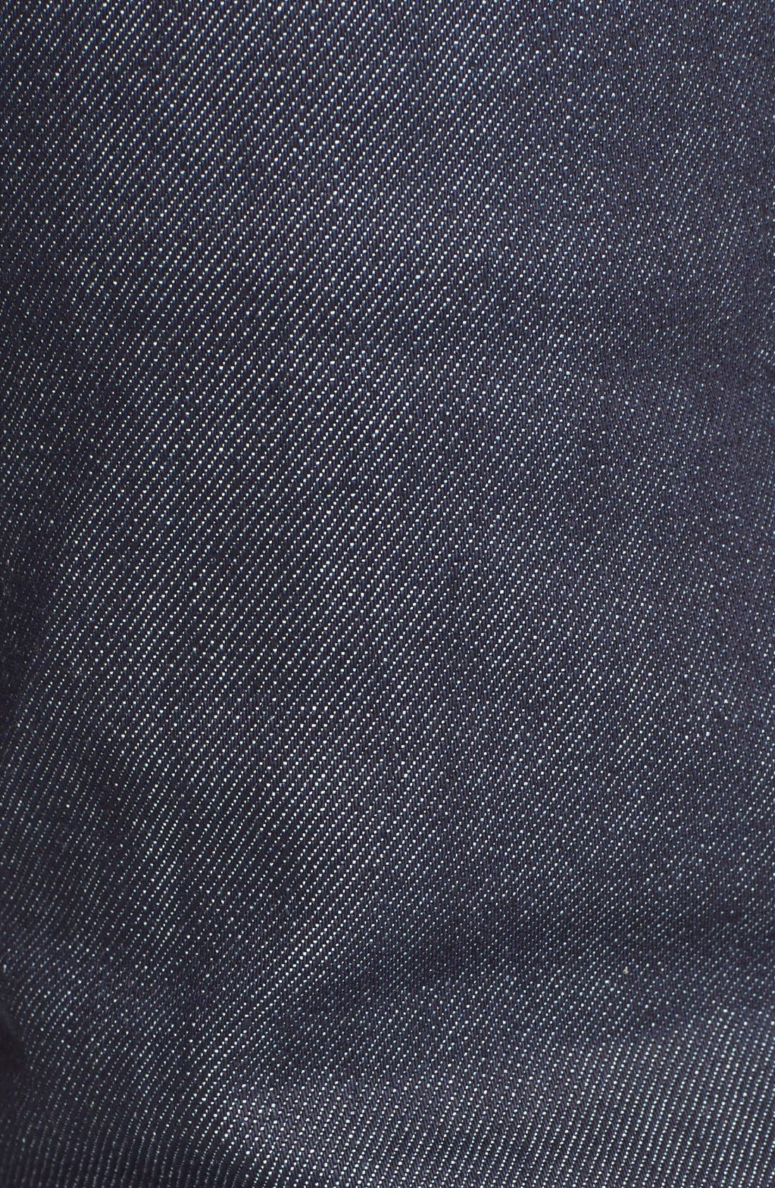 Petite New Standard Skinny Fit Jeans,                             Alternate thumbnail 5, color,                             Indigo