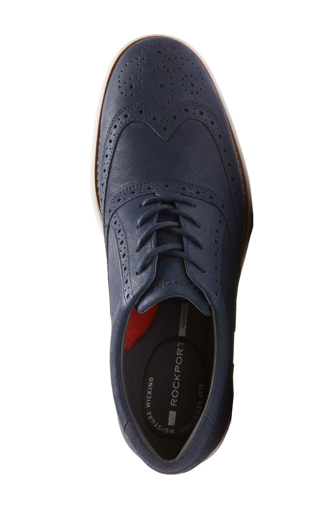 Total Motion Fusion Wingtip,                             Alternate thumbnail 3, color,                             New Dress Blues