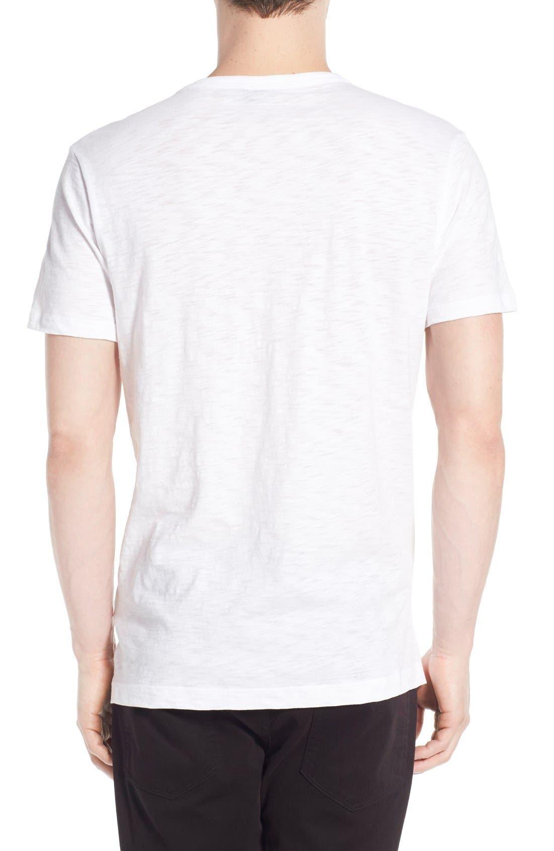 Alternate Image 2  - Vince Slub V-Neck T-Shirt