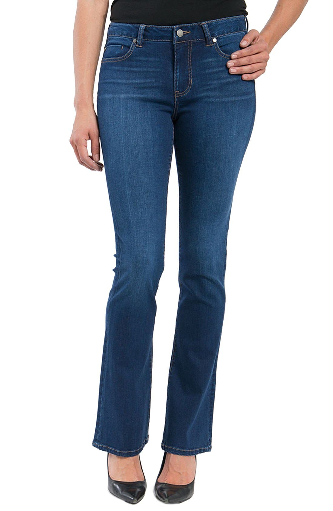 LIVERPOOL JEANS COMPANY Isabell Stretch Bootcut Skinny Jeans