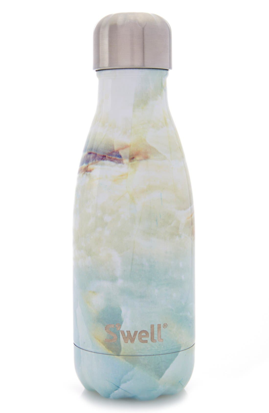 Elements Collection - Opal Marble Stainless Steel Water Bottle,                             Alternate thumbnail 4, color,                             Opal Marble