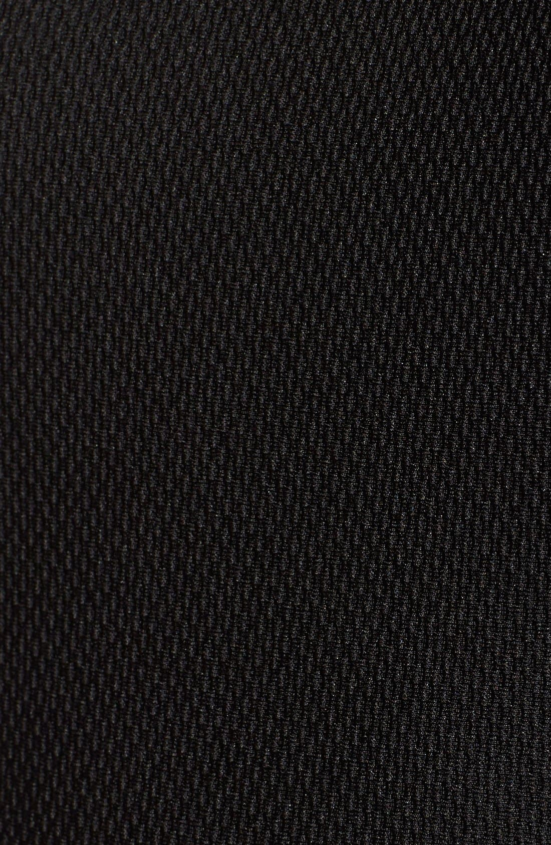 Alternate Image 5  - Way-In Inset Stripe Skater Dress