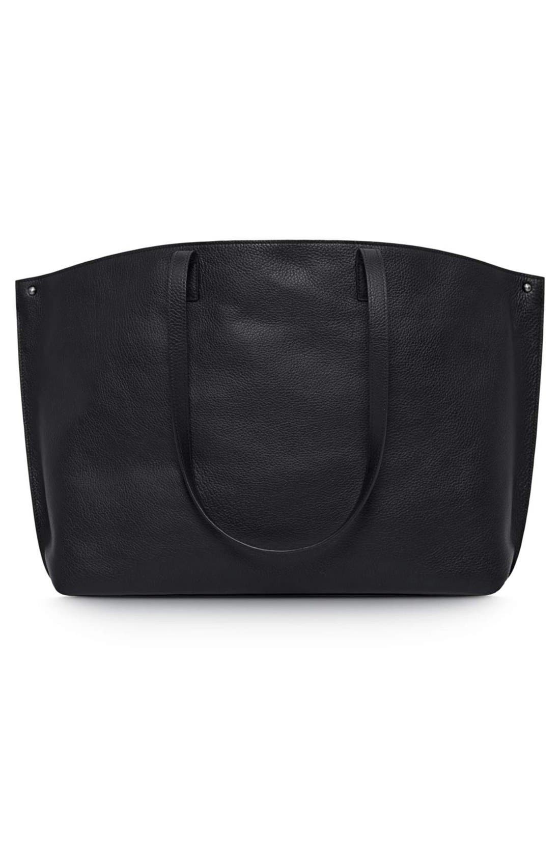 Alternate Image 3  - Akris 'Ai Medium Shoulder Tote' Leather Shoulder Tote