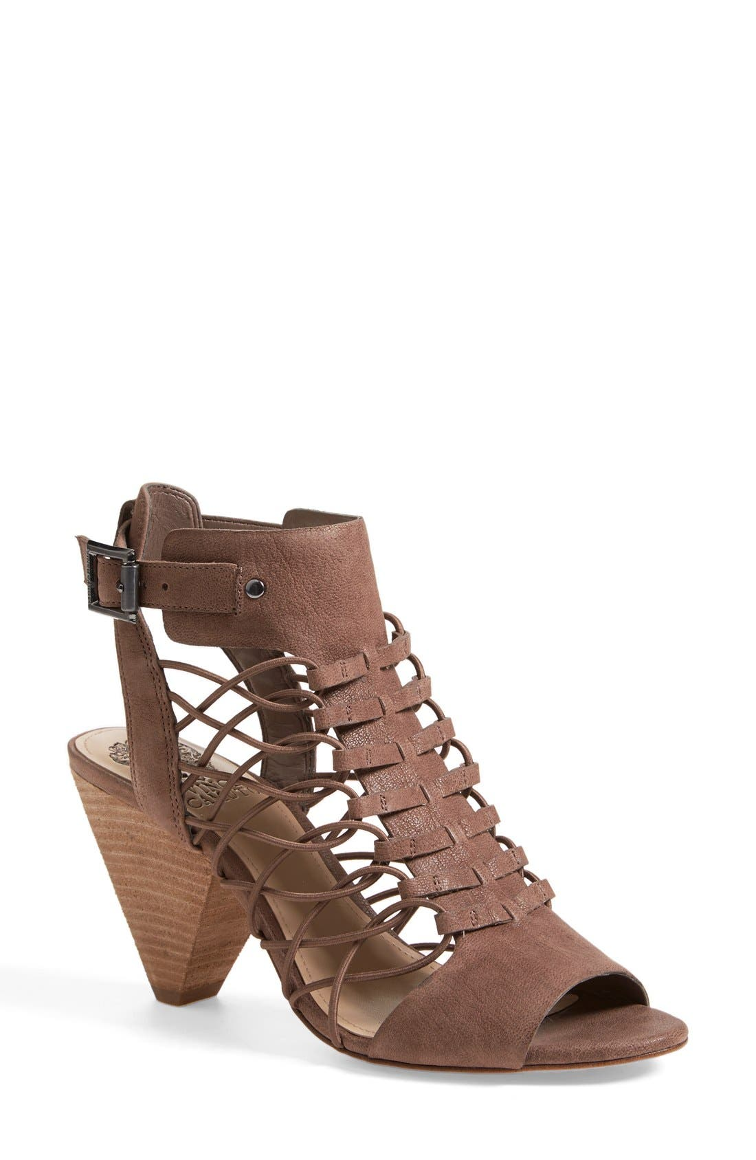 Main Image - Vince Camuto 'Evel' Leather Sandal (Women) (Nordstrom Exclusive)