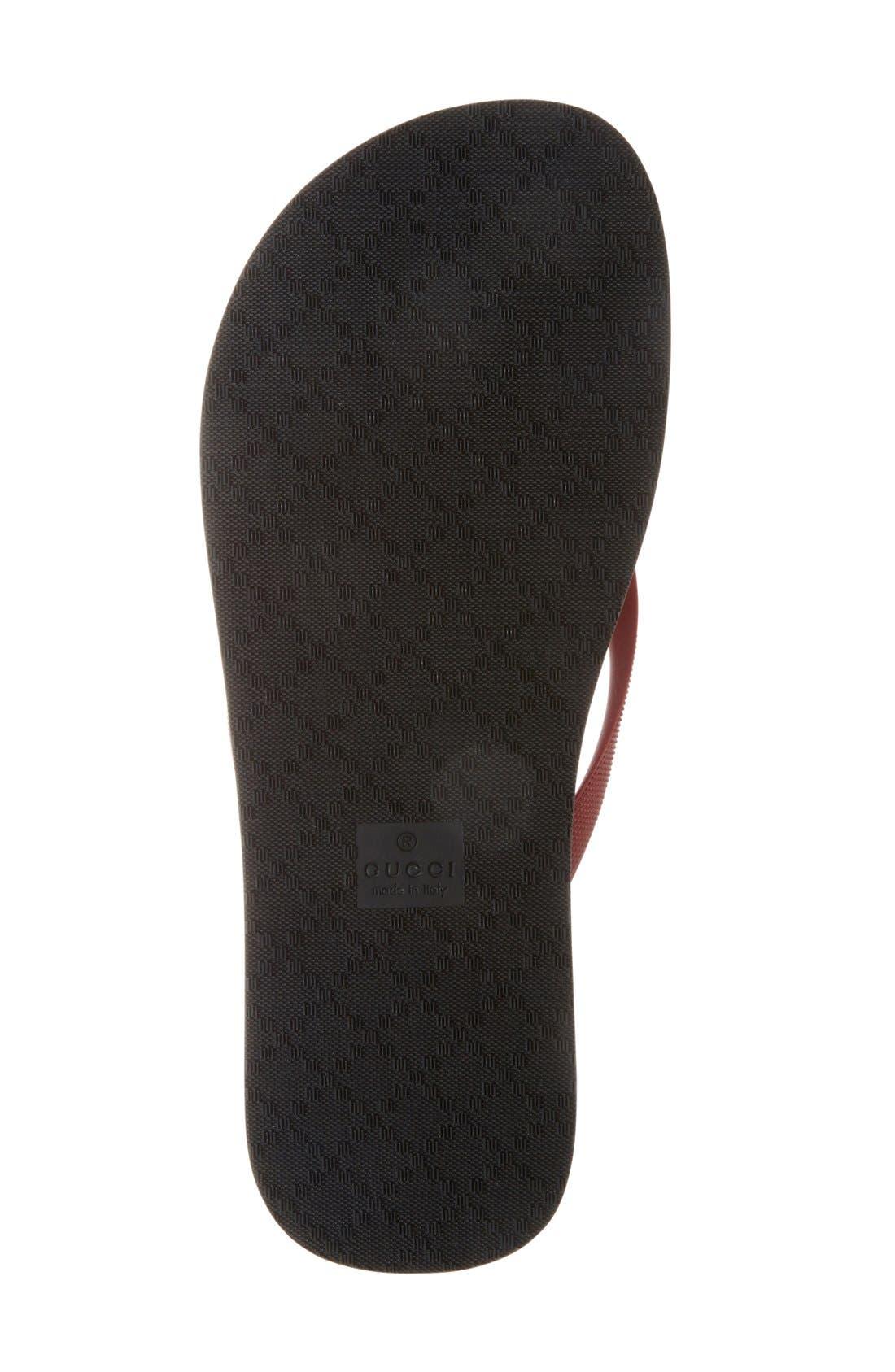 Alternate Image 4  - Gucci 'Bedlam' Flip Flop (Men)