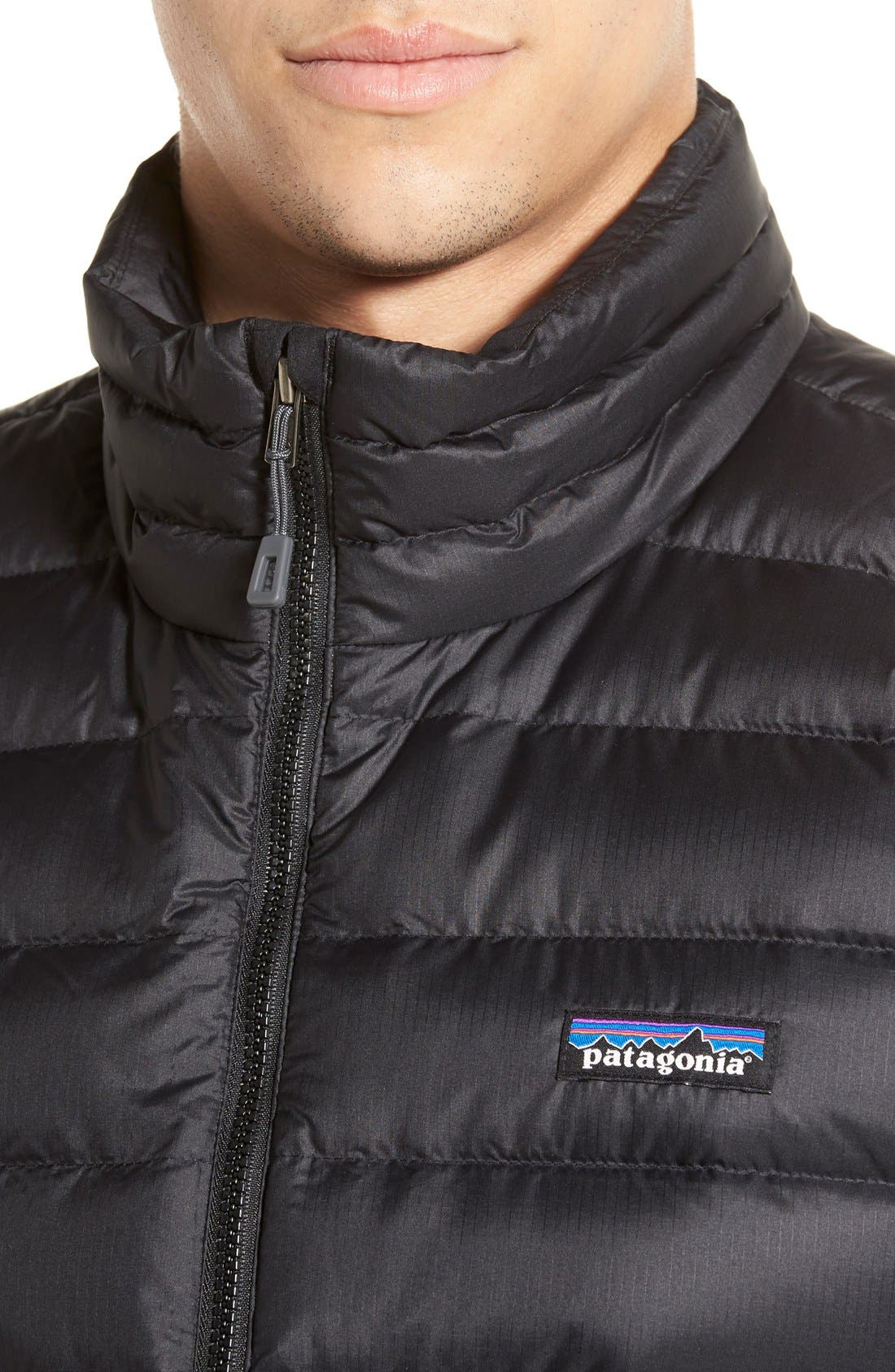 Alternate Image 4  - Patagonia Windproof & Water Resistant 800 Fill Power Down Quilted Vest