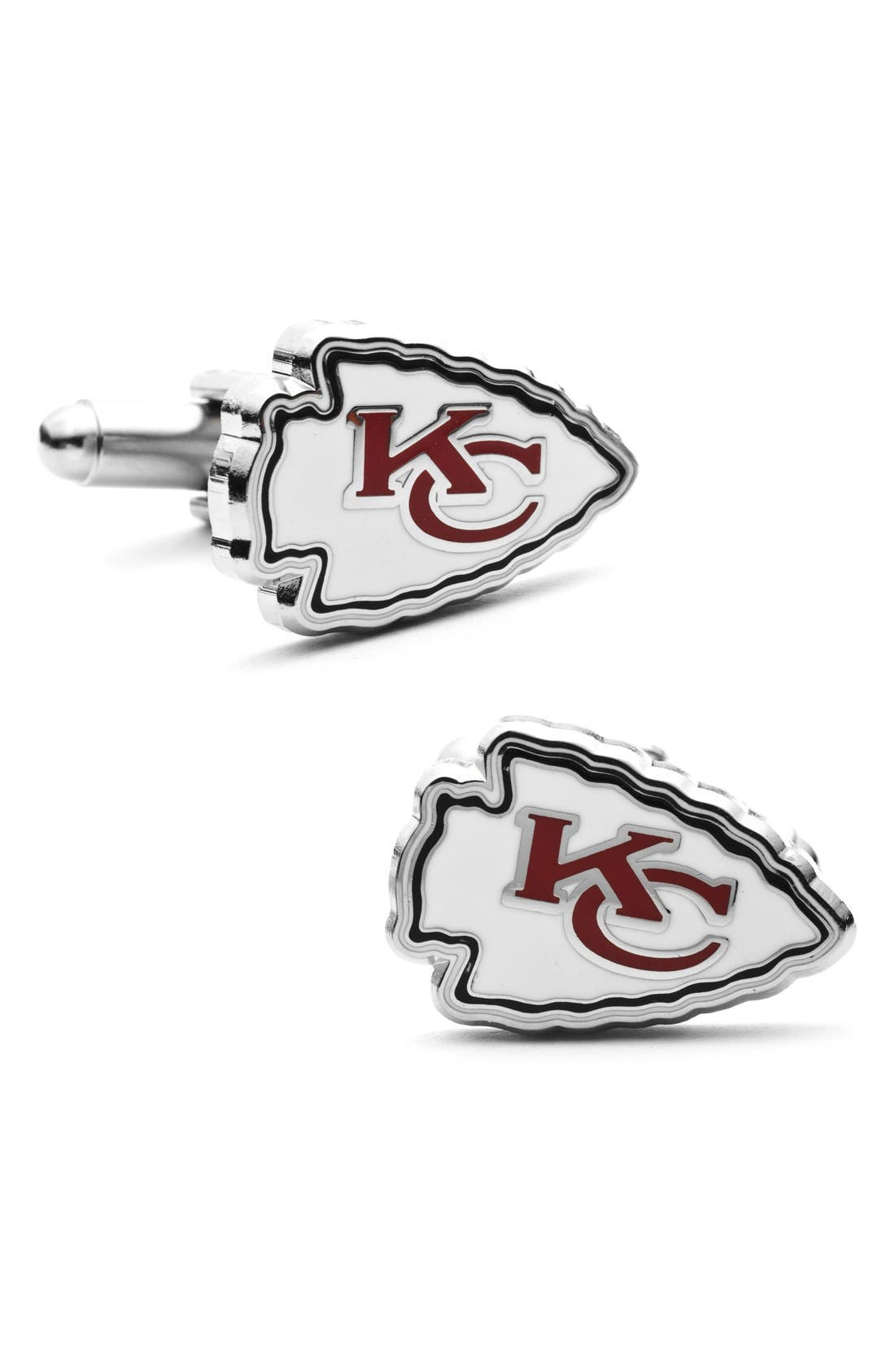 Main Image - Cufflinks, Inc. 'Kansas City Chiefs' Cuff Links