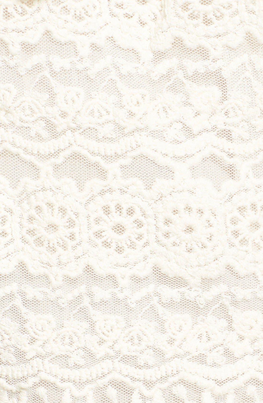 Alternate Image 5  - Amuse Society 'Chelles' Lace Shorts