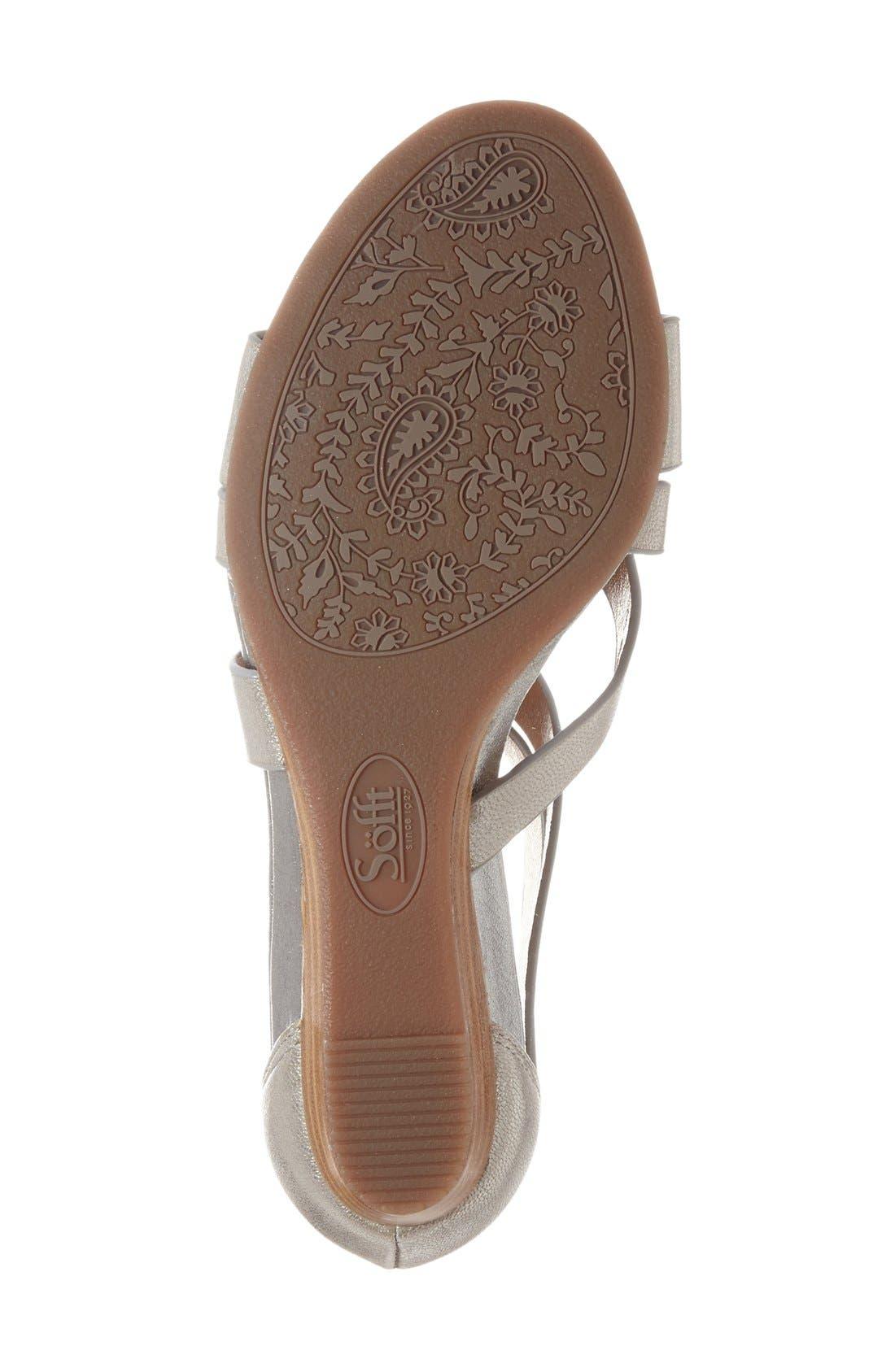 Alternate Image 4  - Söfft 'Rianna' Wedge Sandal (Women)