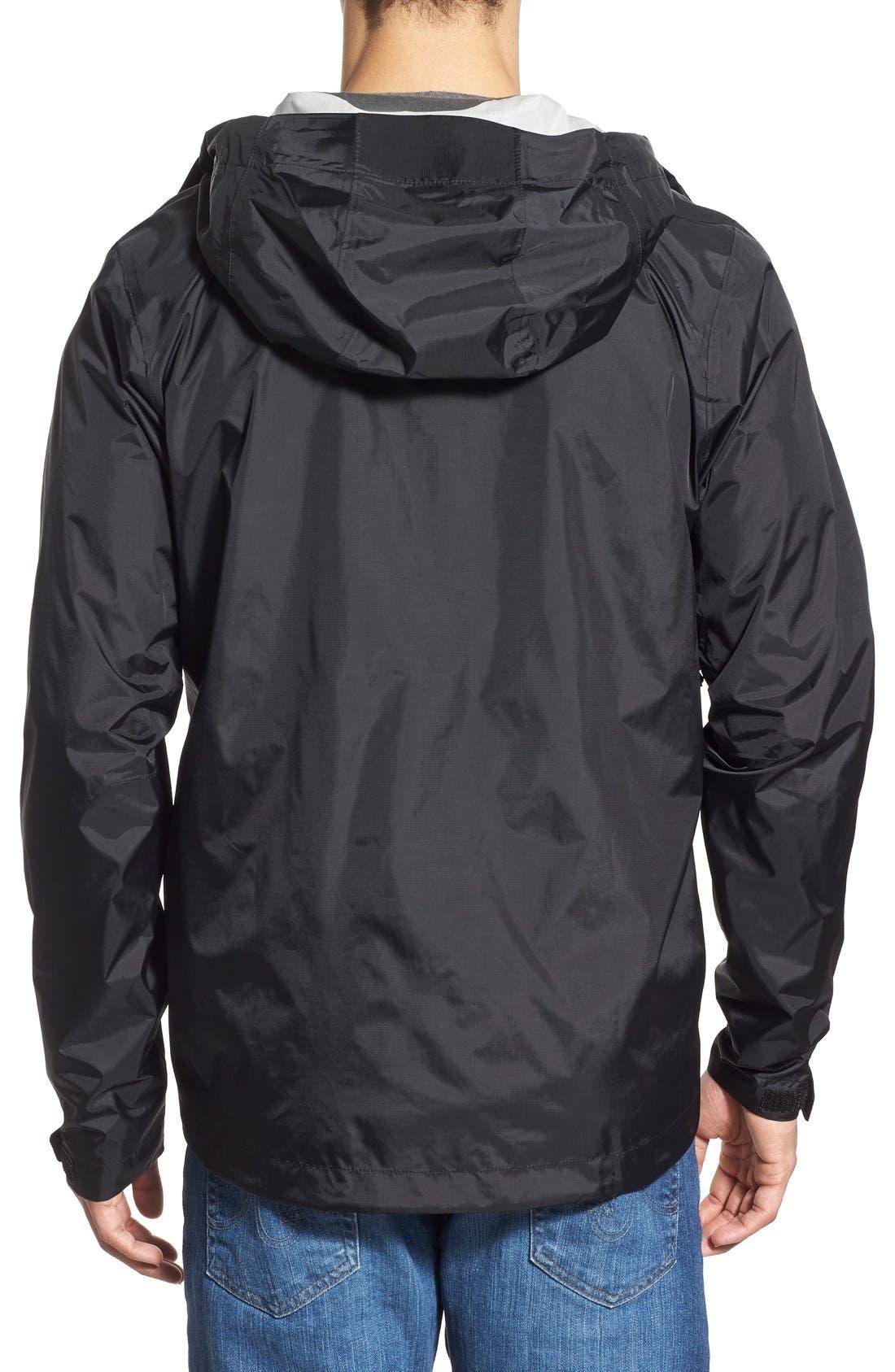 'Torrentshell' Packable Rain Jacket,                             Alternate thumbnail 2, color,                             Black
