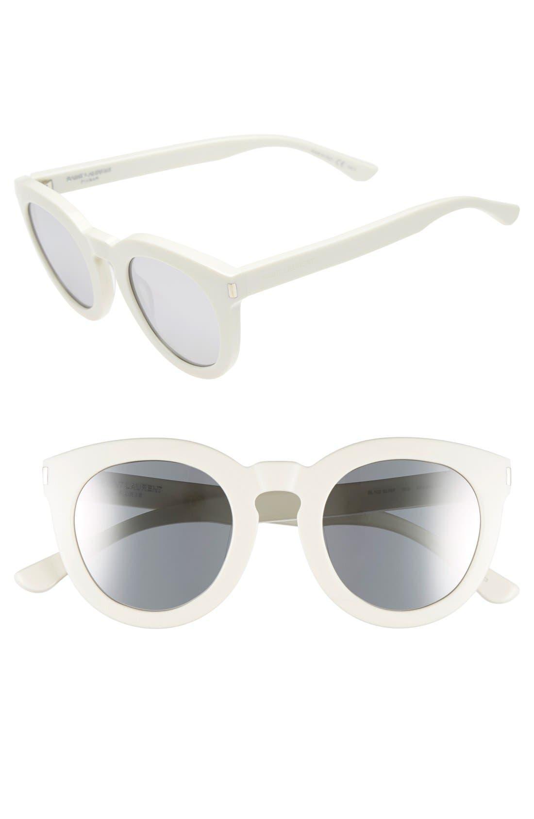 Alternate Image 1 Selected - Saint Laurent '102 Surf' 47mm Retro Sunglasses