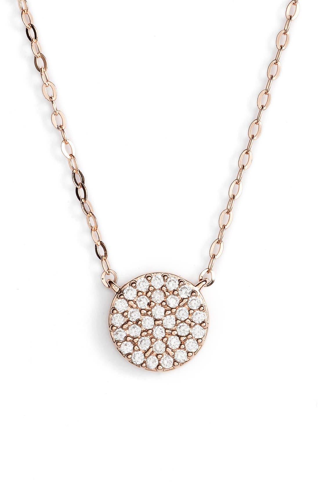 Nadri 'Geo' Small Pendant Necklace