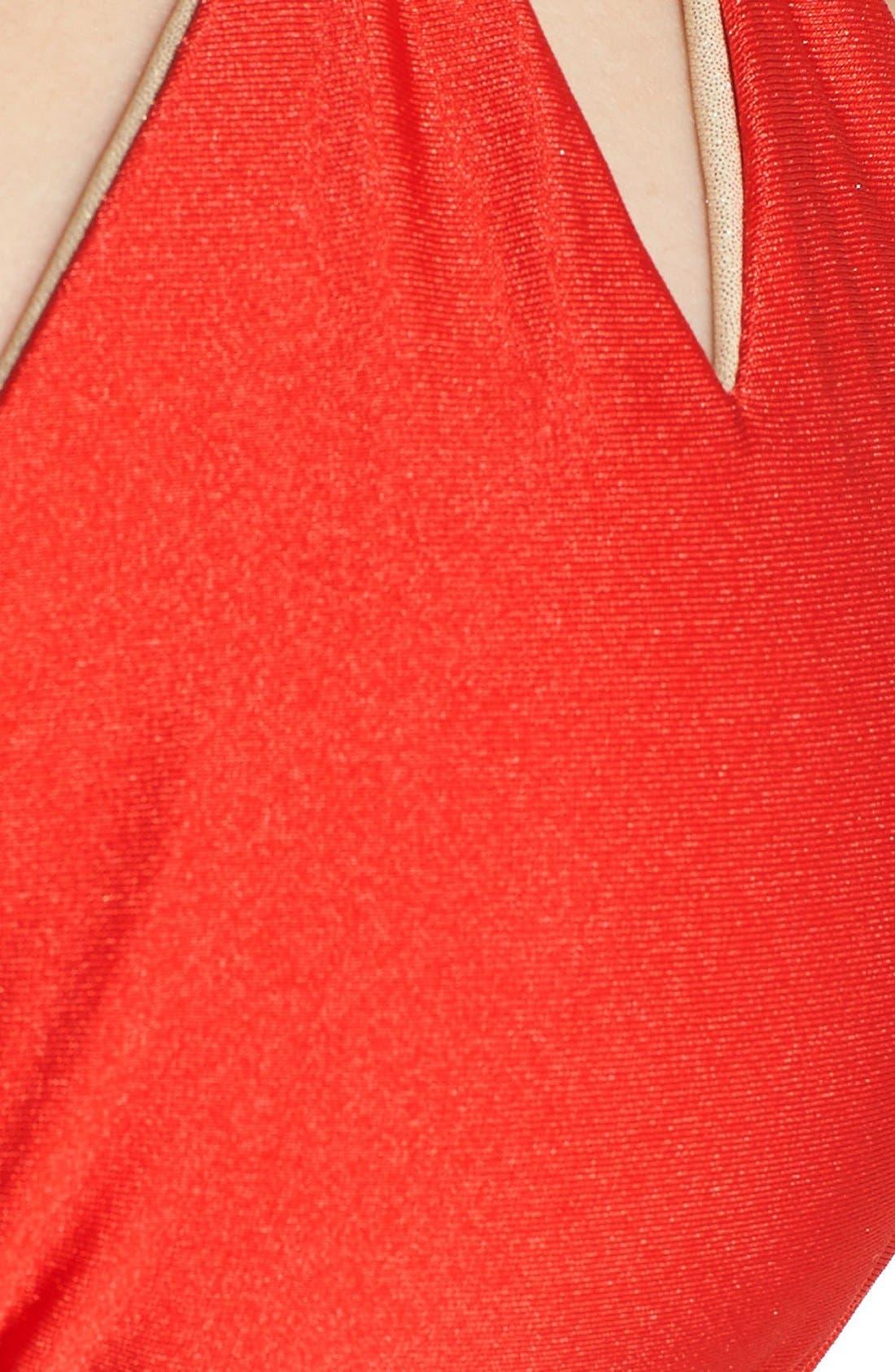 Alternate Image 7  - Luli Fama Reversible Triangle Bikini Top
