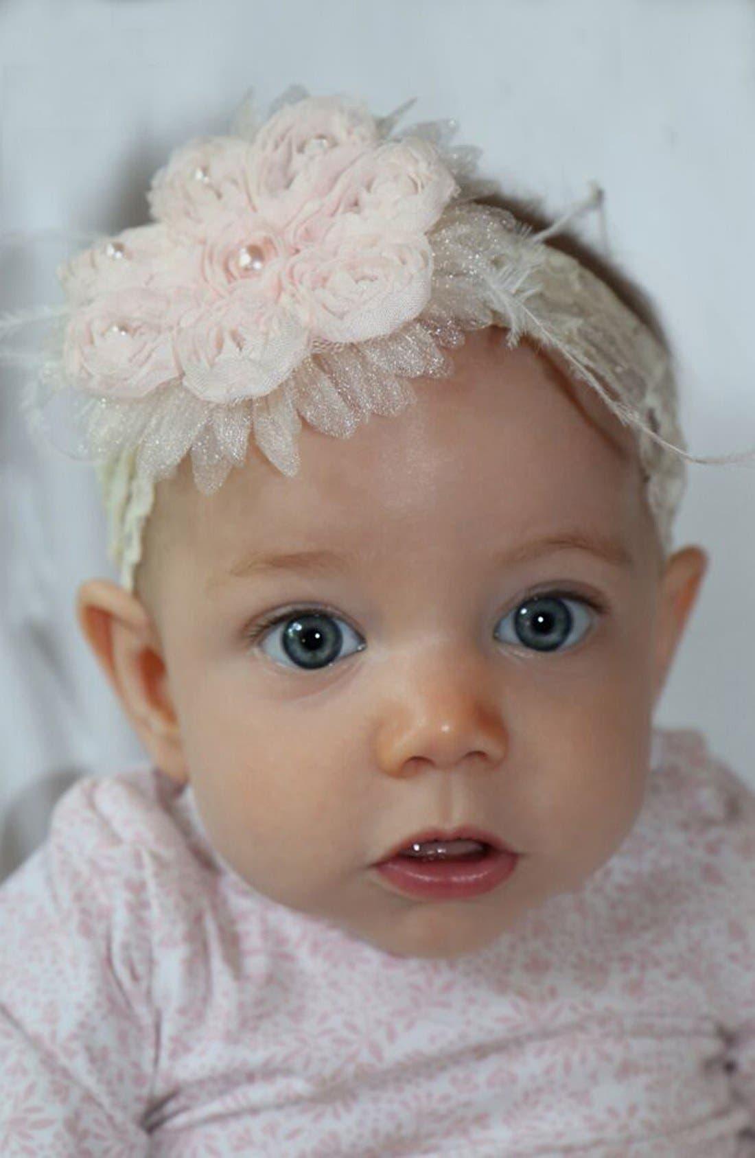 Alternate Image 4  - PLH Bows & Laces Headband (Baby Girls & Toddler Girls)
