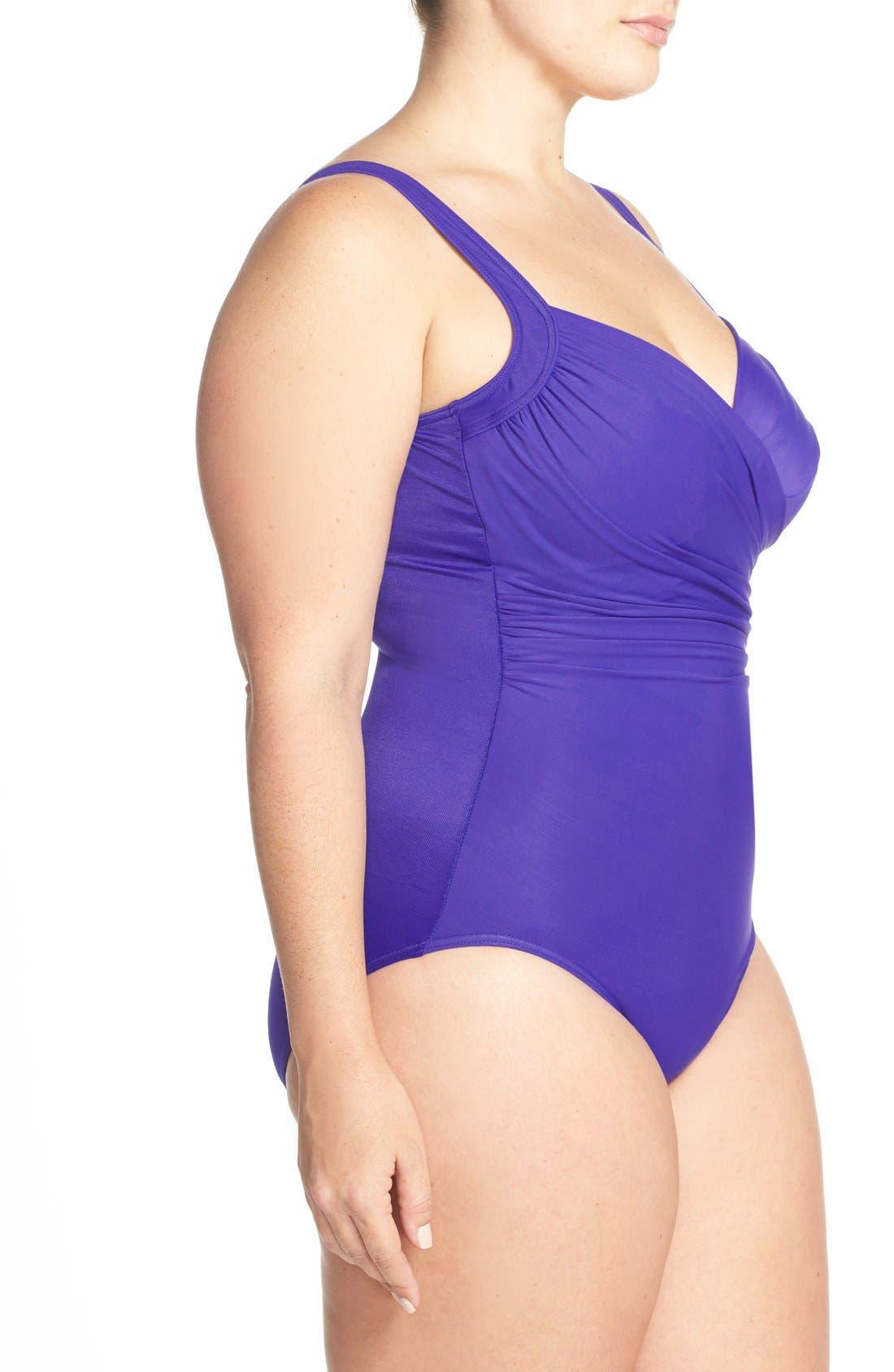 Alternate Image 3  - Miraclesuit® 'Sanibel' Underwire One-Piece Swimsuit (Plus Size)
