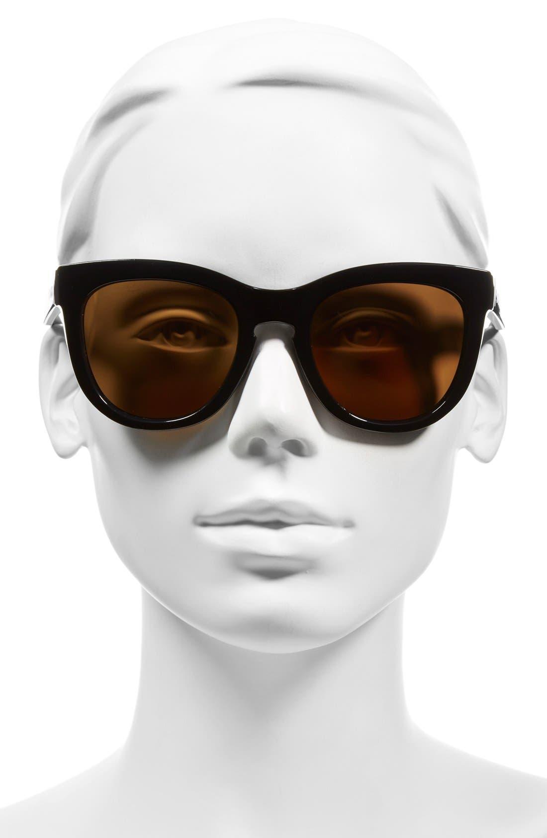 Alternate Image 2  - Smith 'Sidney' 55mm Polarized Sunglasses
