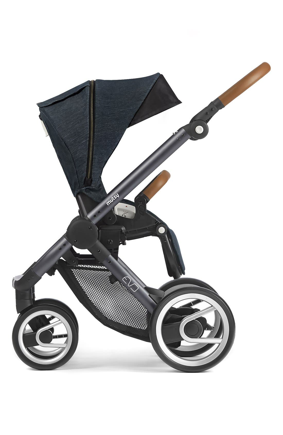 Evo - Farmer Earth Stroller,                             Alternate thumbnail 3, color,                             Brown/ Dark Grey