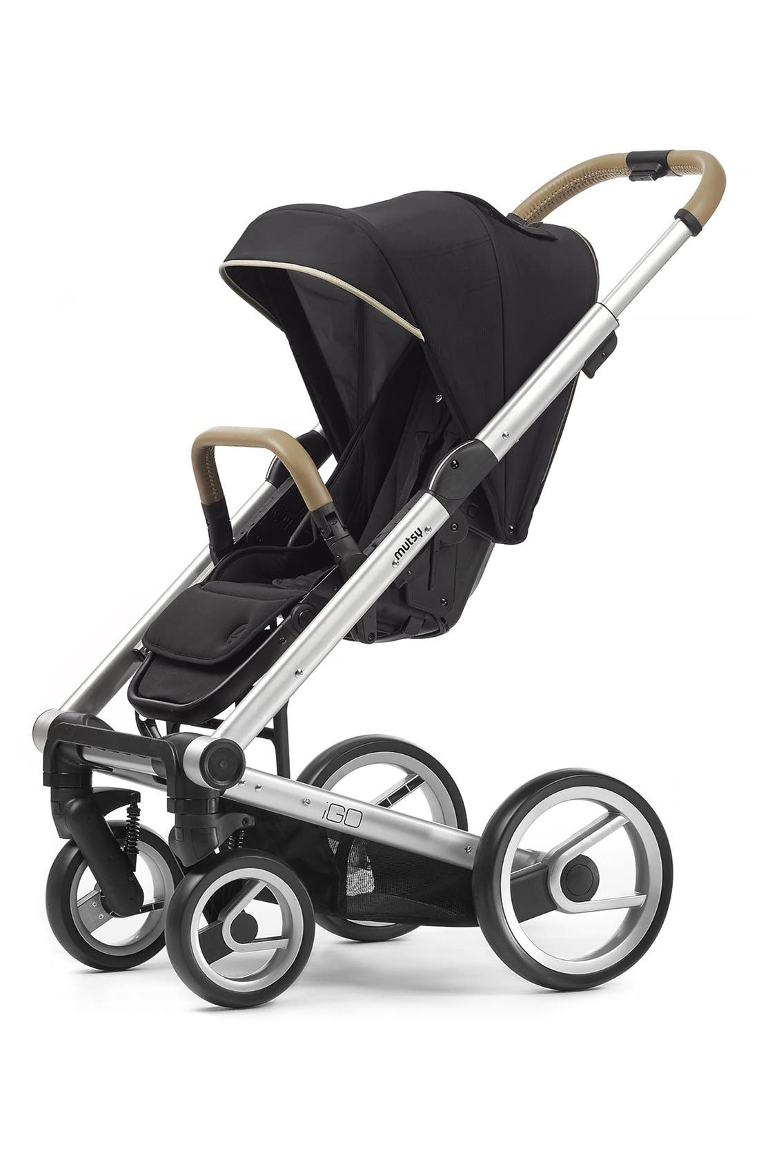 Mutsy 'Igo - Reflect Cosmo Black' Tech Fabric Stroller