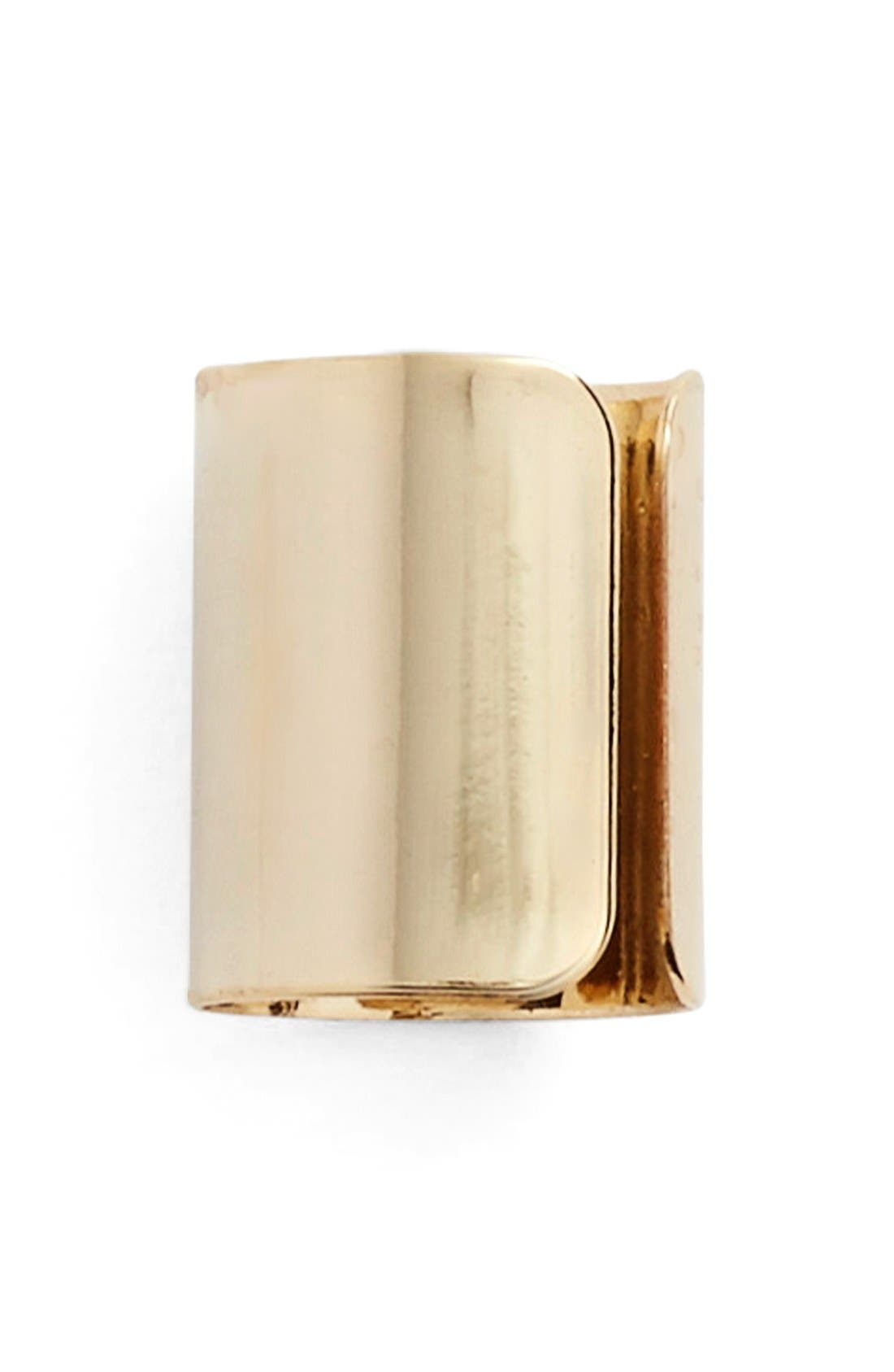 Main Image - Jules Smith Cigar Band Cuff Earring