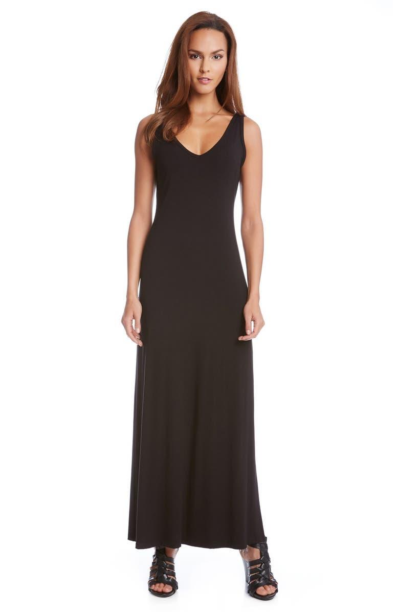 Alana Double V-Neck Maxi Dress