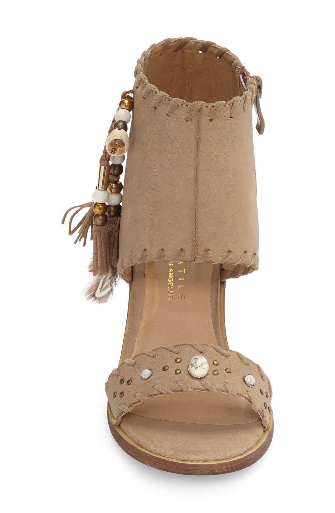 Alternate Image 3  - Very Volatile 'Boho' Tassel Cuff Sandal (Women)