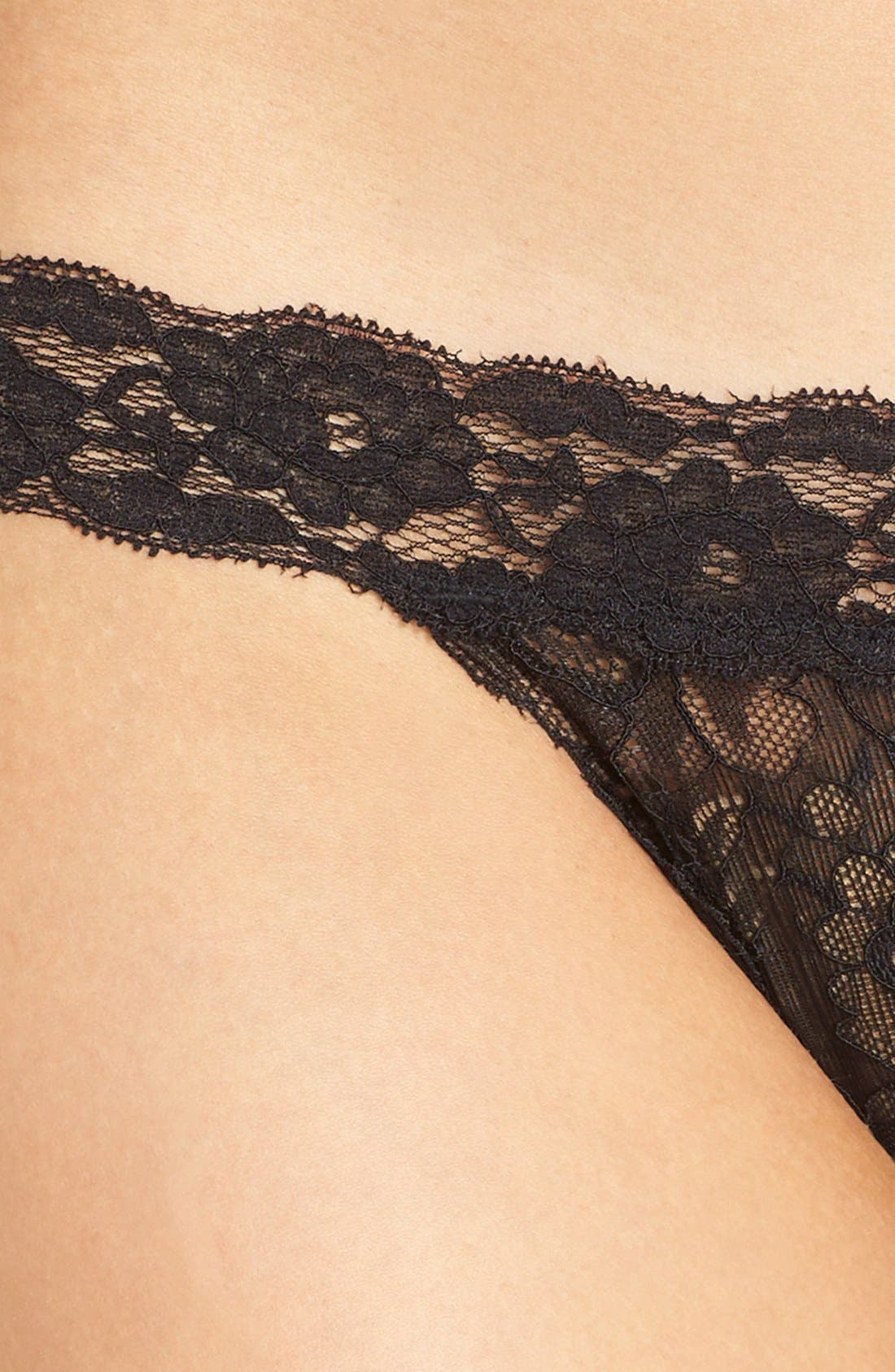 Alternate Image 4  - h.dew 'Mollie' Lace Thong