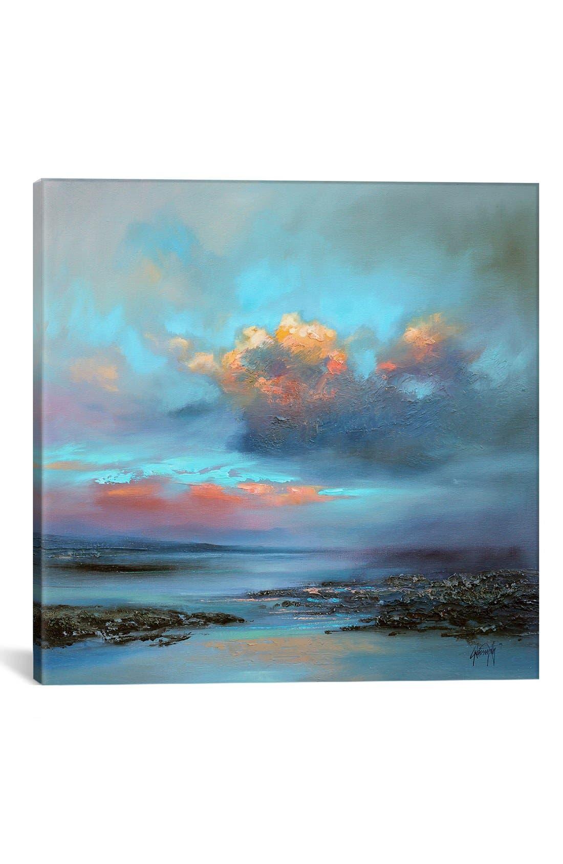 Alternate Image 1 Selected - iCanvas 'Hebridean Light I' Giclée Print Canvas Art